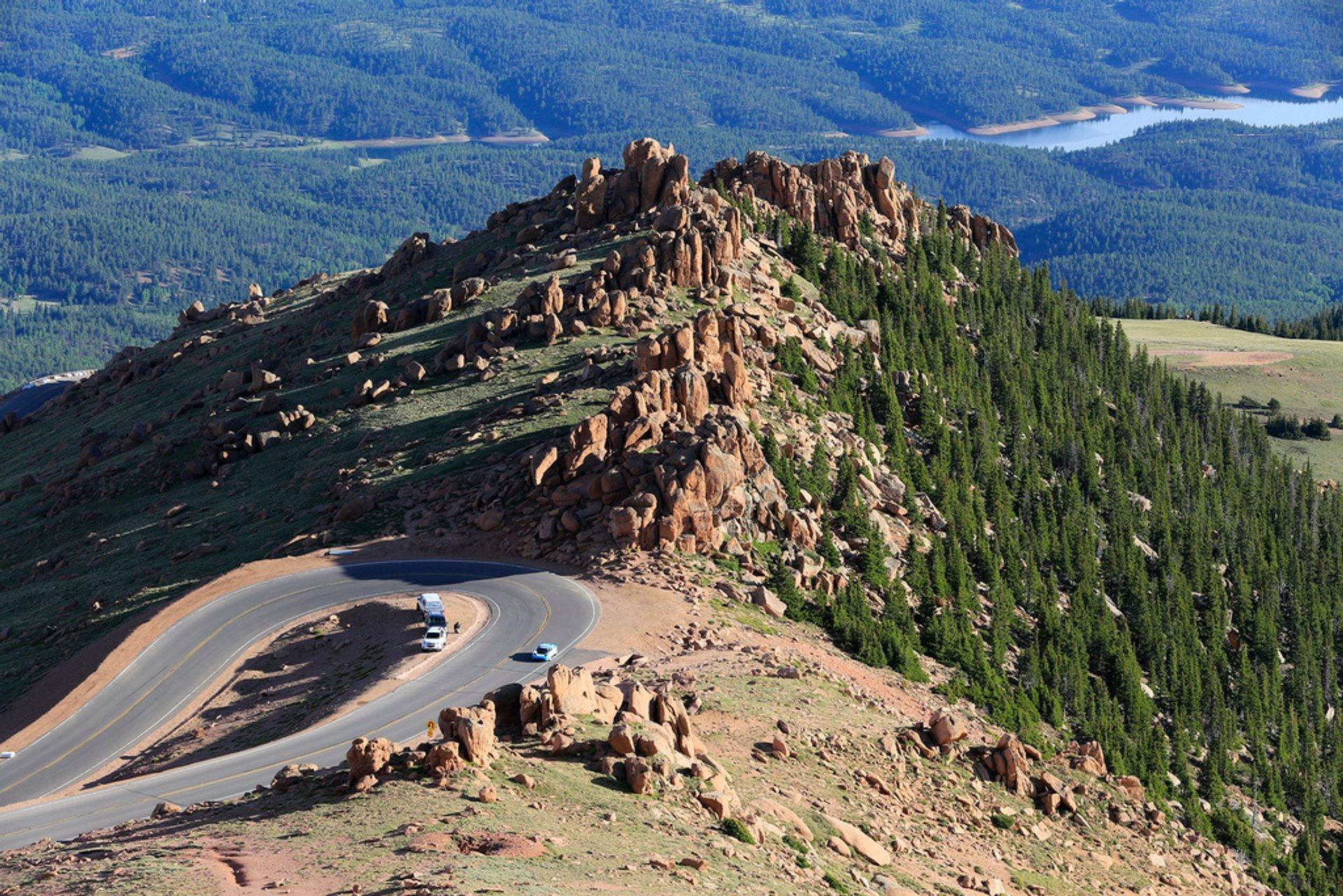 Pikes Peak International Hill Climb in Colorado - Best Season 2020