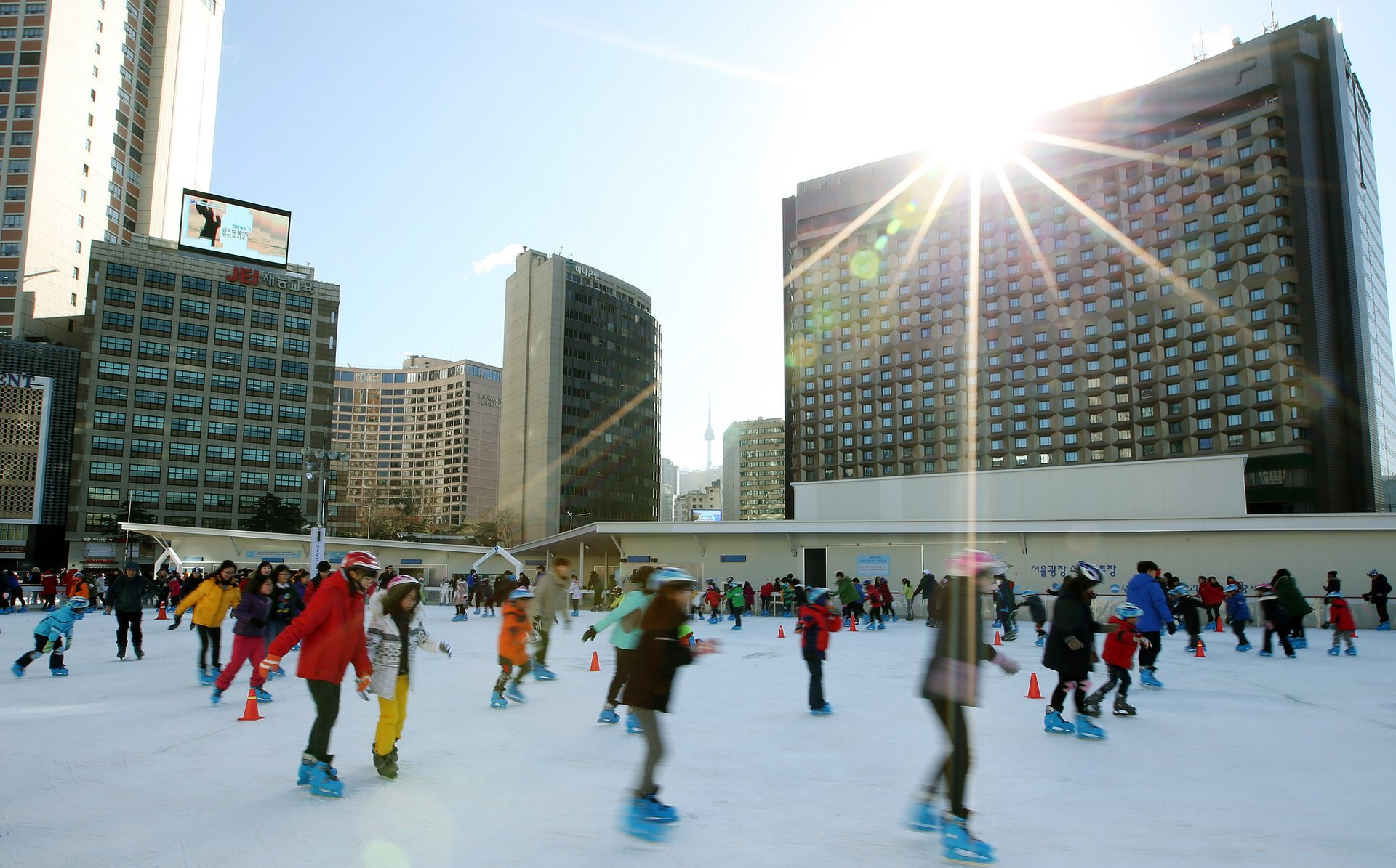 Seoul Ice Skating Rinks in Seoul 2020 - Best Time