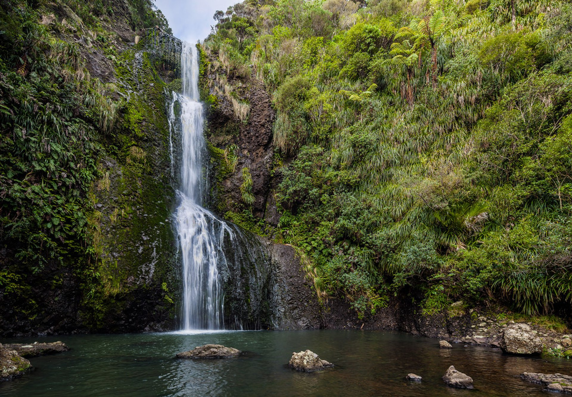 Kitekite Falls, Piha, Auckland 2019