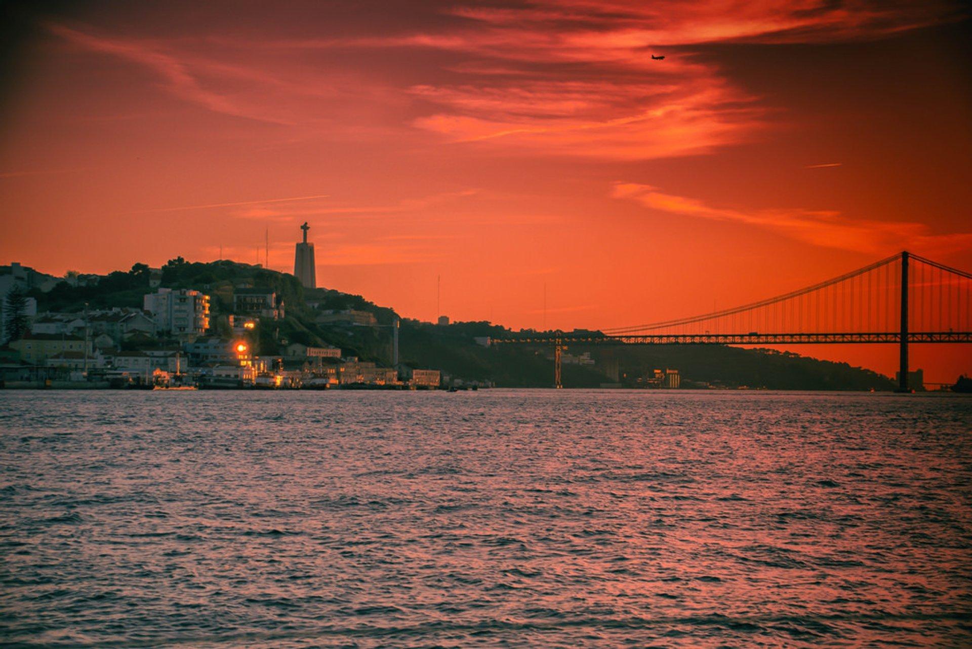 Tagus River Sunset Cruise in Lisbon - Best Season 2019