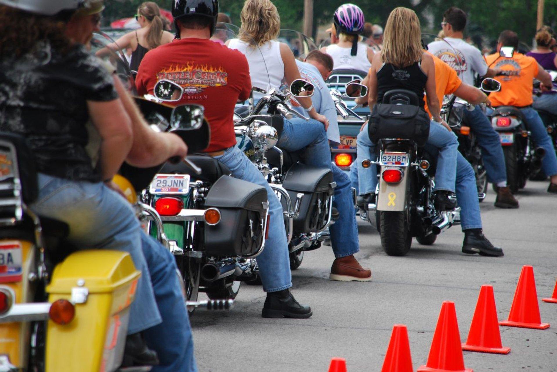 Best time for Ohio Bike Week in Ohio 2020