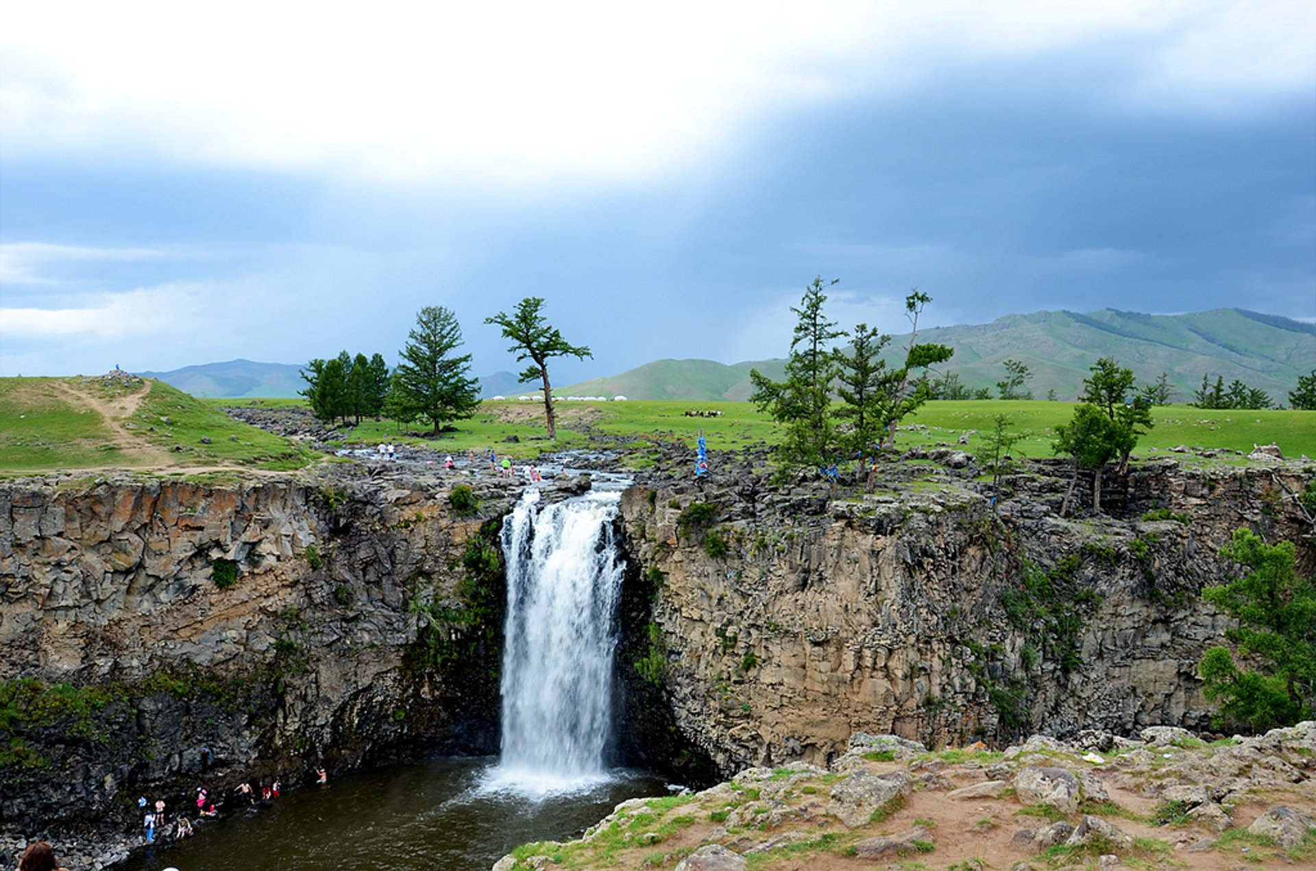 Best time for Orkhon Waterfalls in Mongolia 2020
