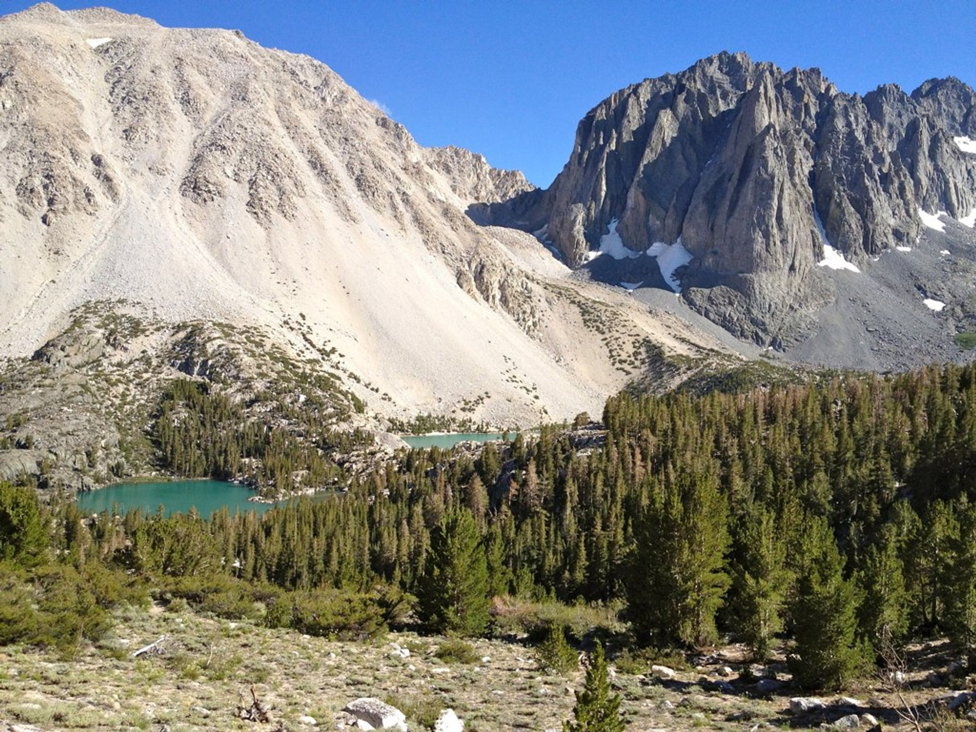 Big Pine Lakes in California - Best Season 2020