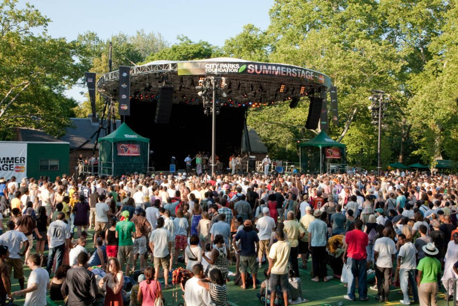 SummerStage in Central Park 2020