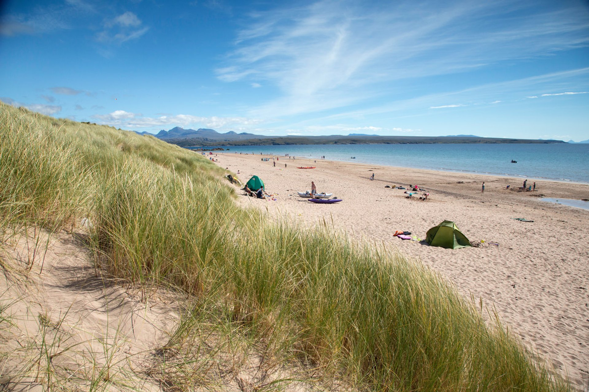 Lunan Bay Bathing Season in Scotland - Best Season 2020