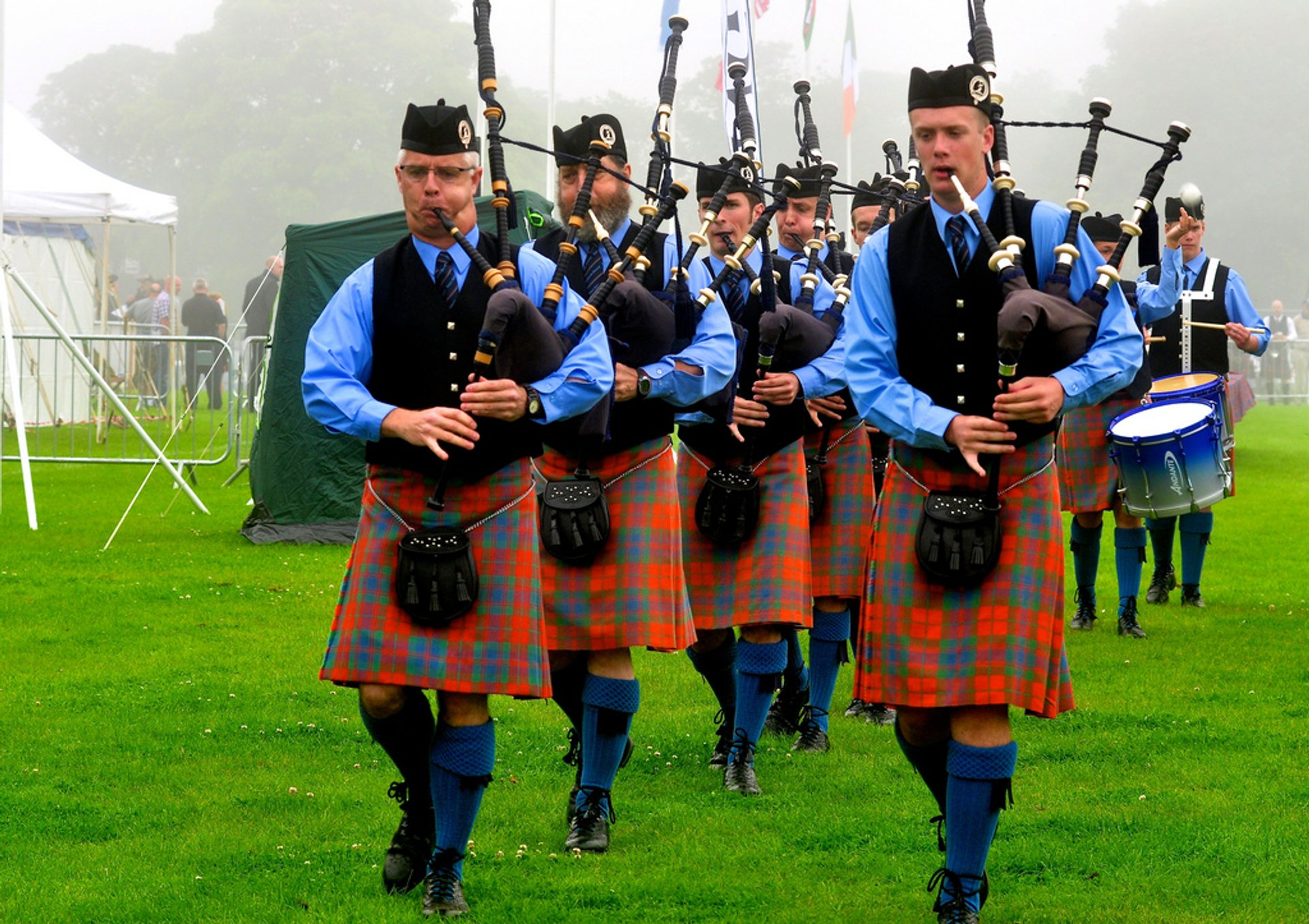Best time for North Berwick International Highland Games in Edinburgh 2020