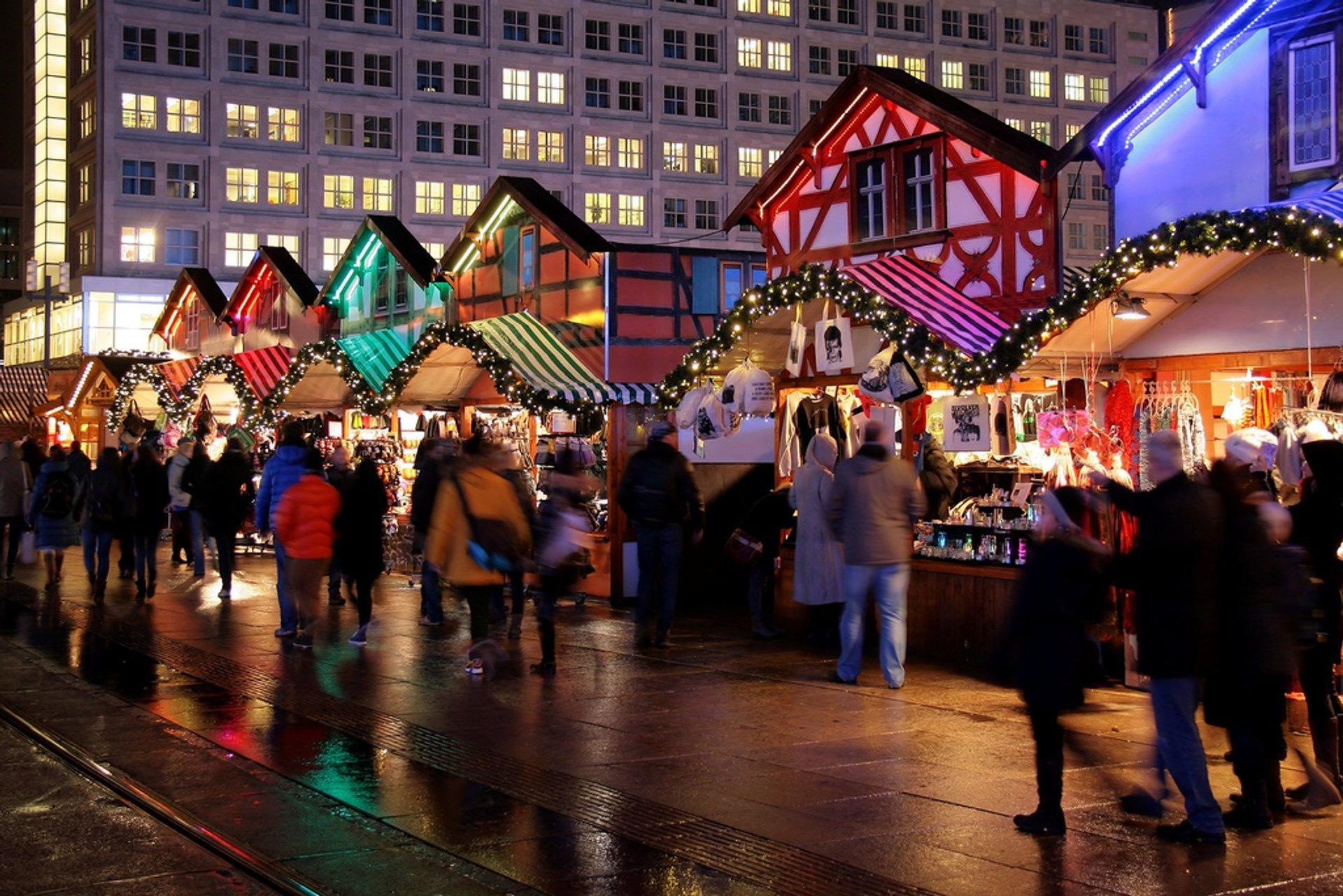 Christmas Market (Weihnachtsmarkt) at Alexanderplatz 2020