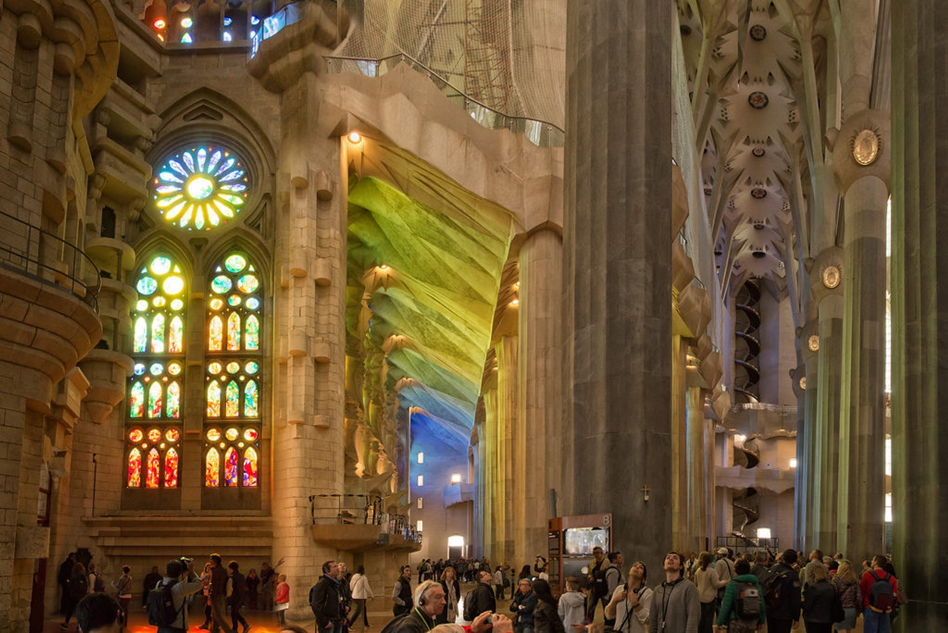 Best time to see Sagrada Familia in Barcelona