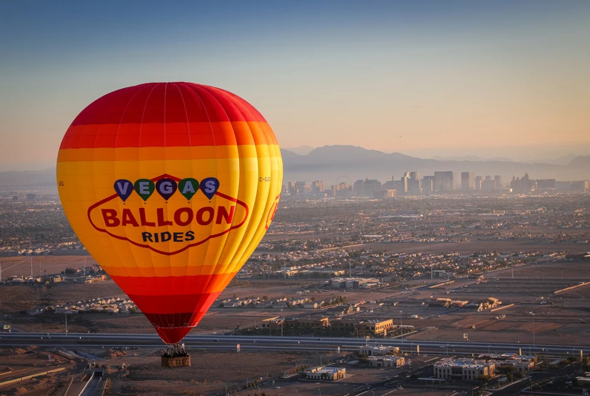 Best time to see Sunset Hot Air Balloon Rides in Las Vegas