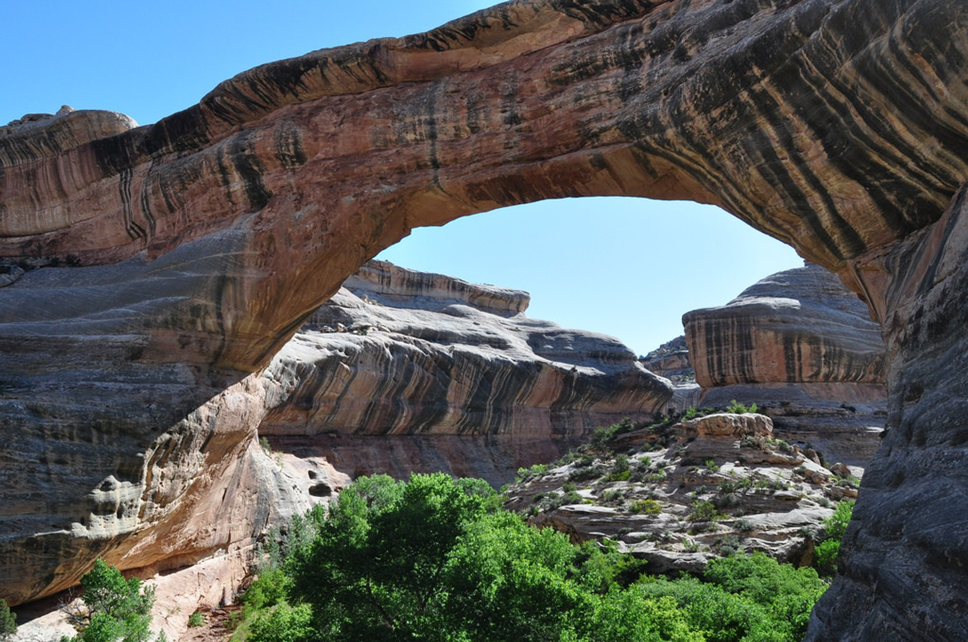 Best time for Natural Bridges National Monument in Utah 2019
