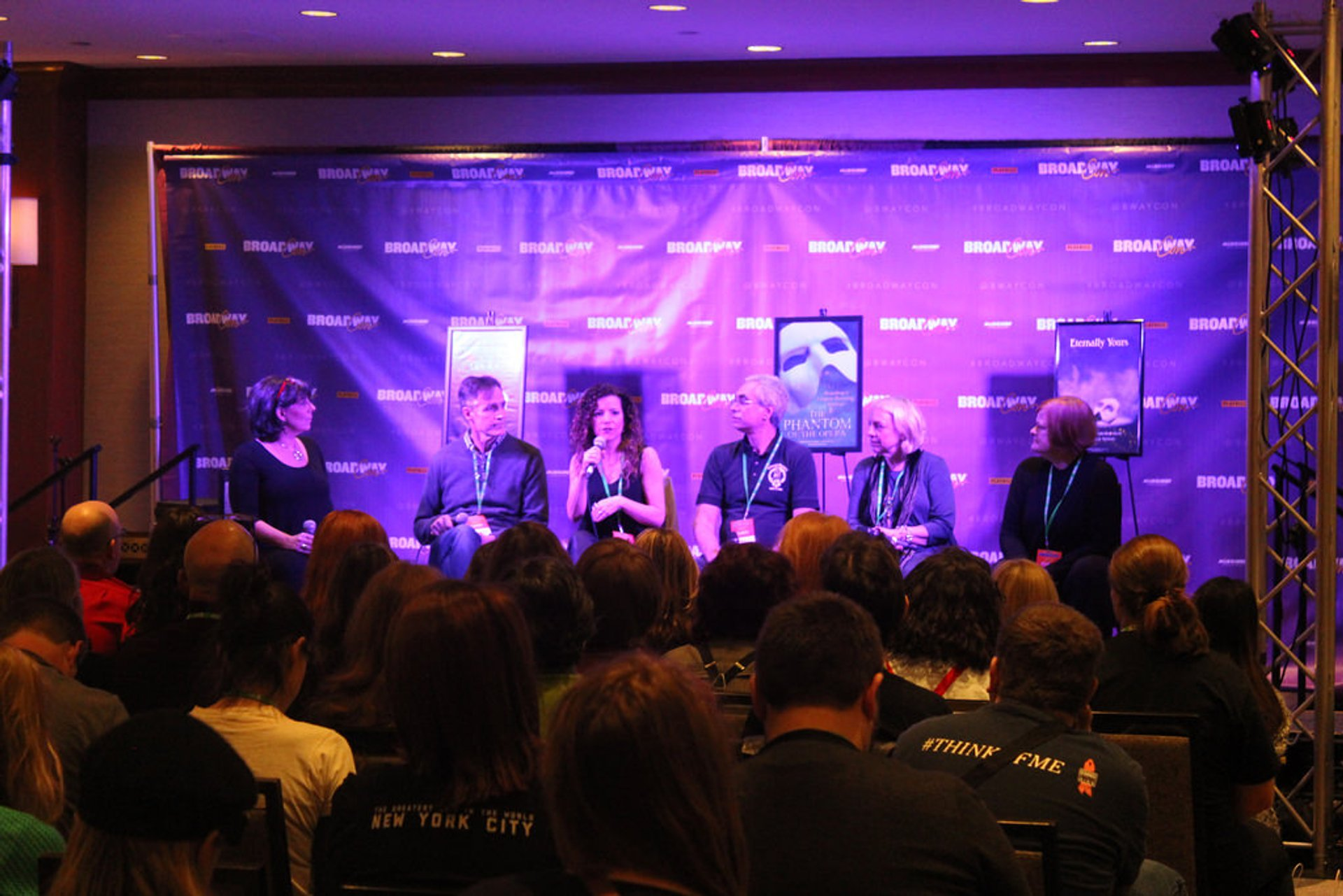 Phantom Panel at BroadwayCon 2020