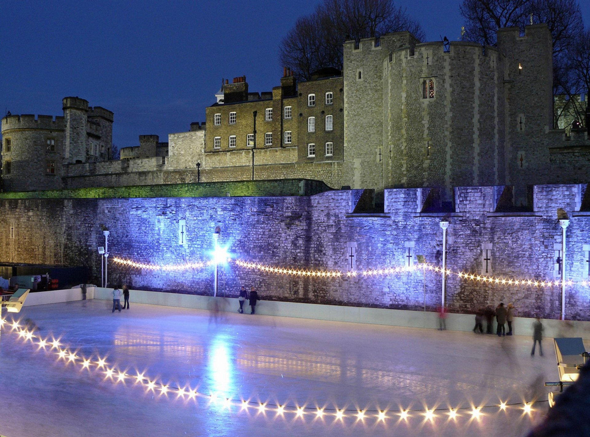 The Tower of London Ice Rink 2020