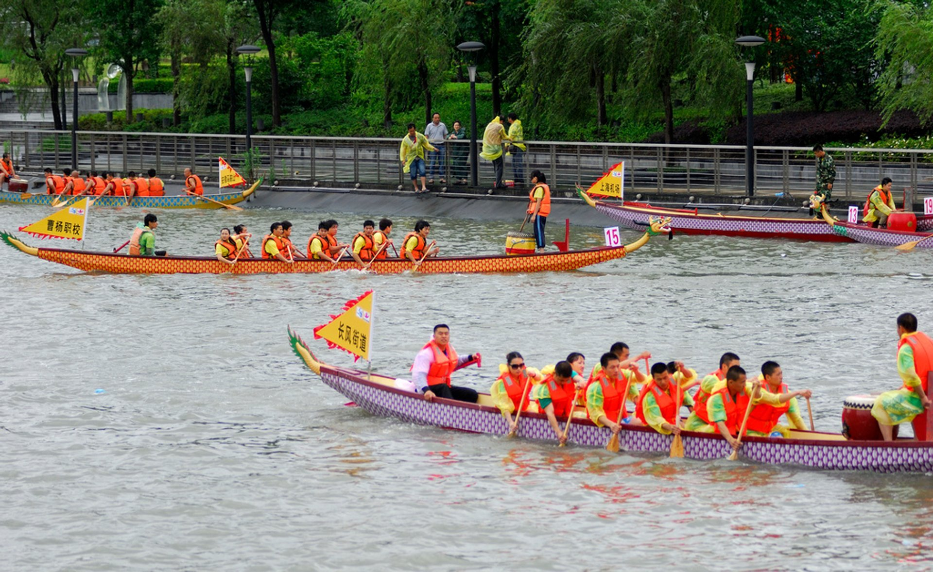 Best time for Dragon Boat Festival in Shanghai 2019