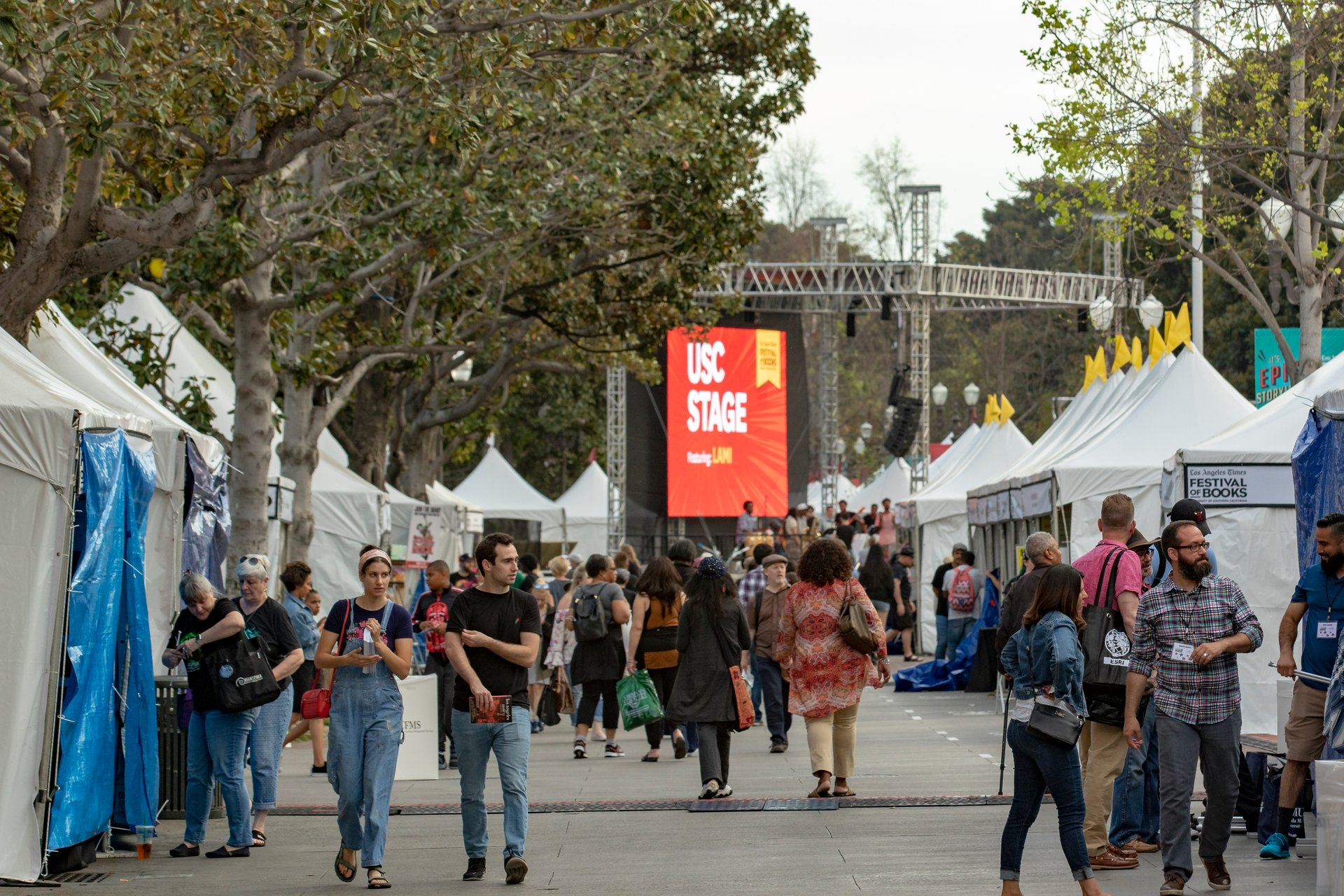 Los Angeles Times Festival of Books in Los Angeles - Best Season 2020
