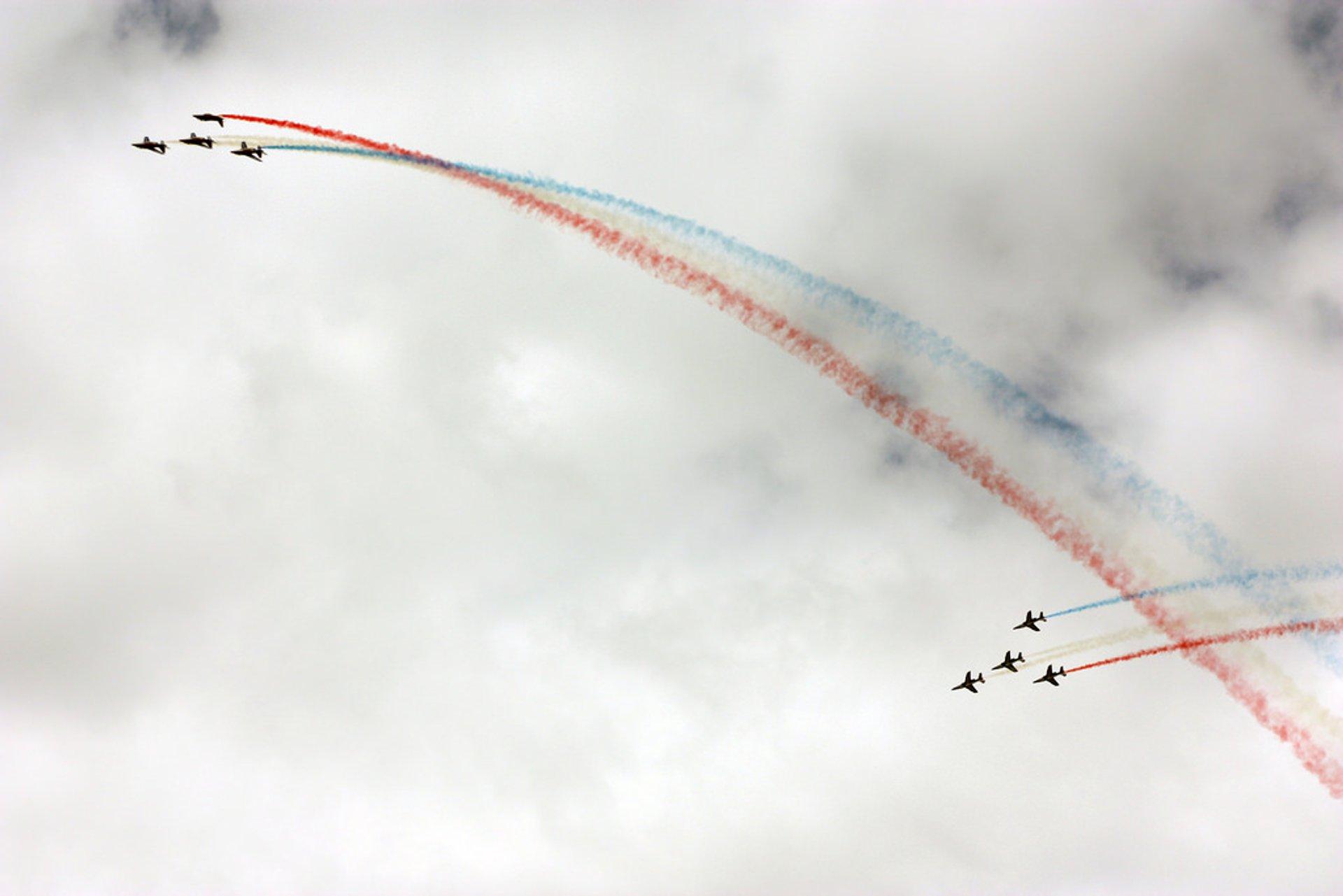 Best time for International Paris Air Show Le Bourget in Paris 2020