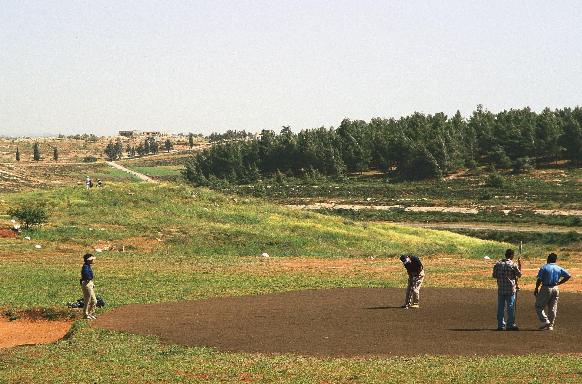 Sand Golf in Jordan 2020 - Best Time