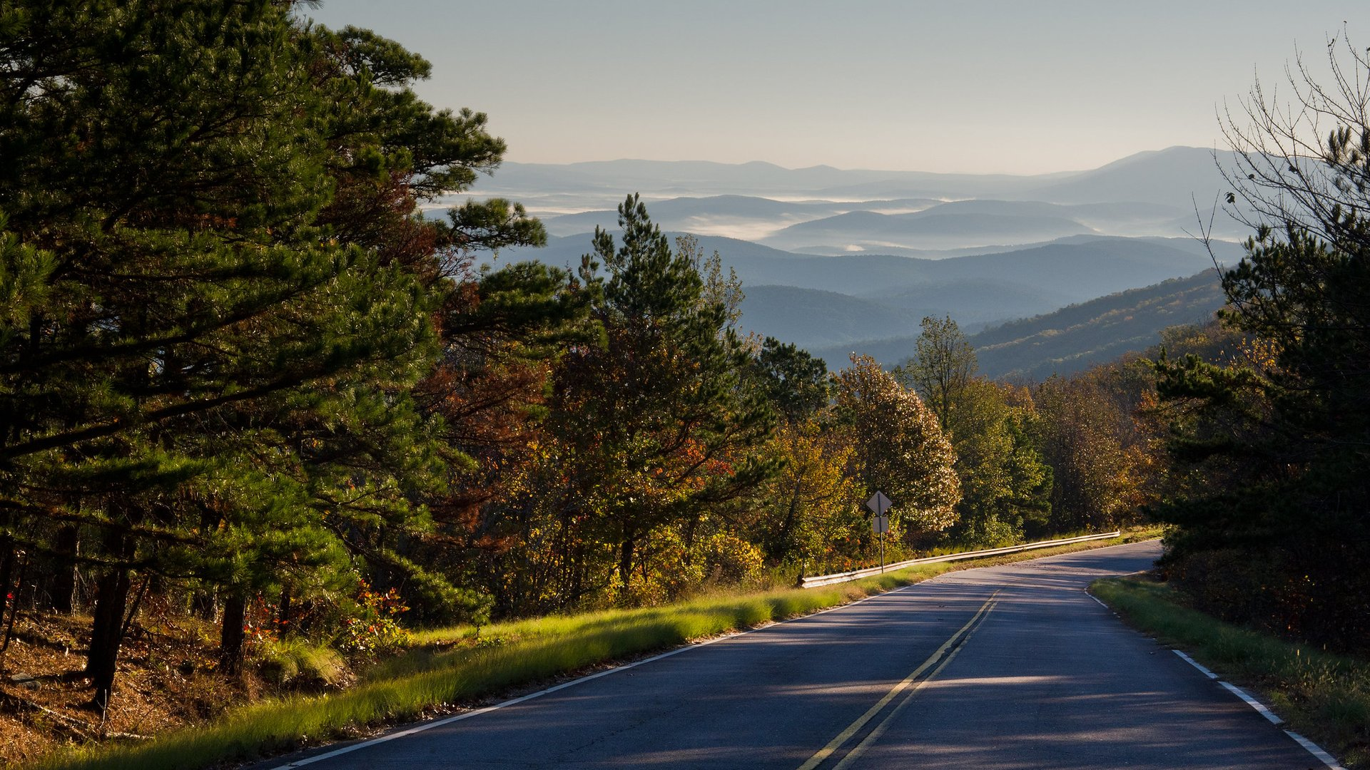 Talimena Scenic Drive across Ouachita National Forest  2020