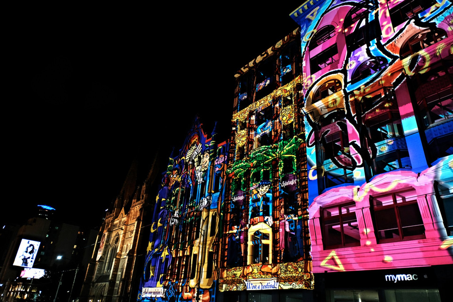 White Night Melbourne in Melbourne - Best Time