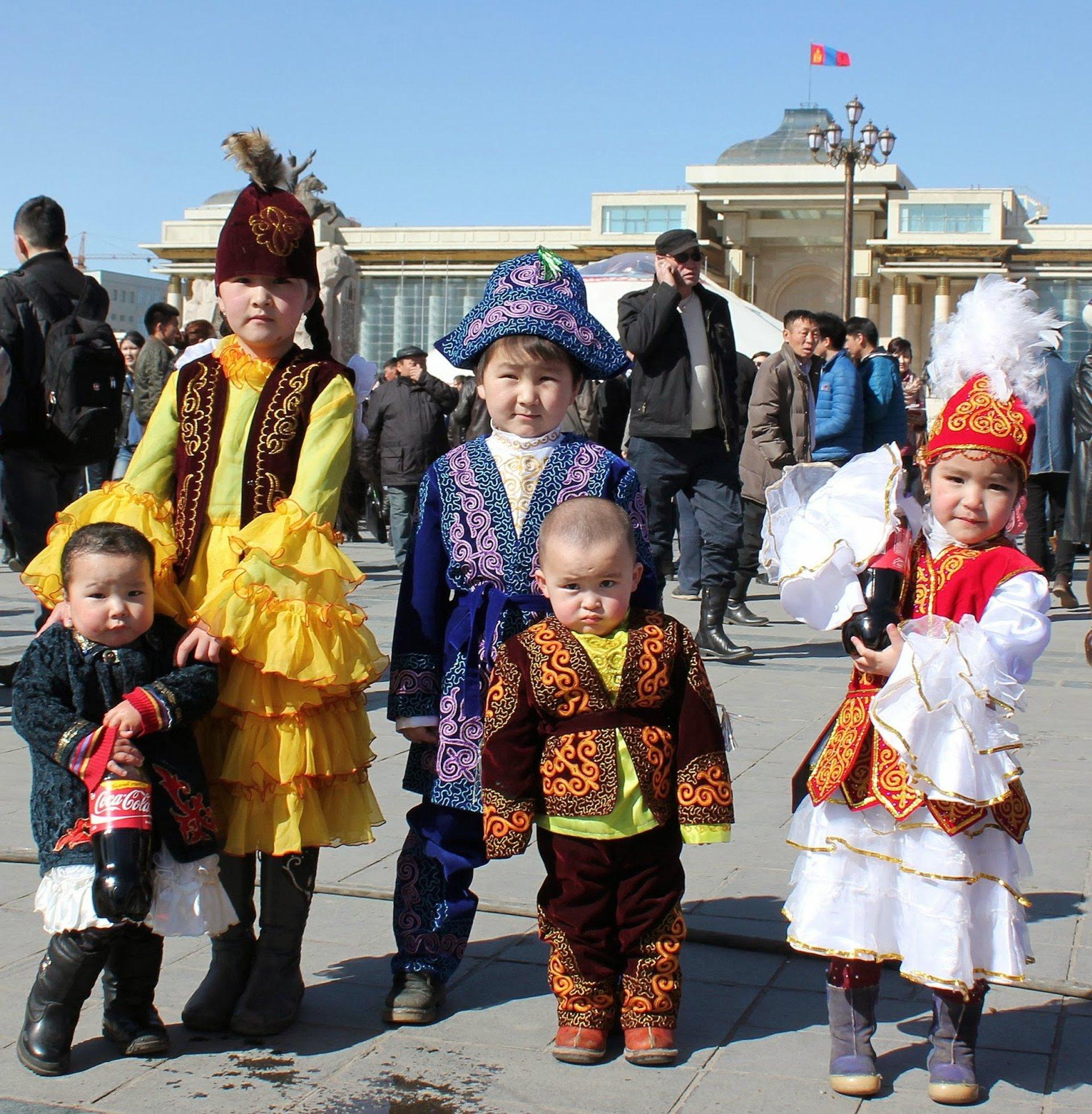 Dress up day for Kazakh children 2020