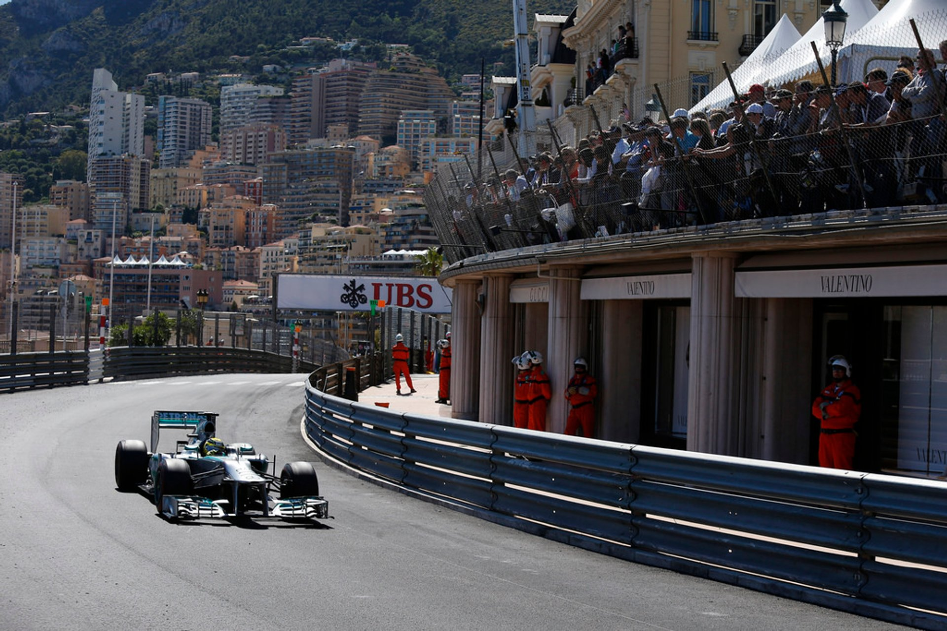Best time for F1 Monaco Grand Prix in Monaco 2019