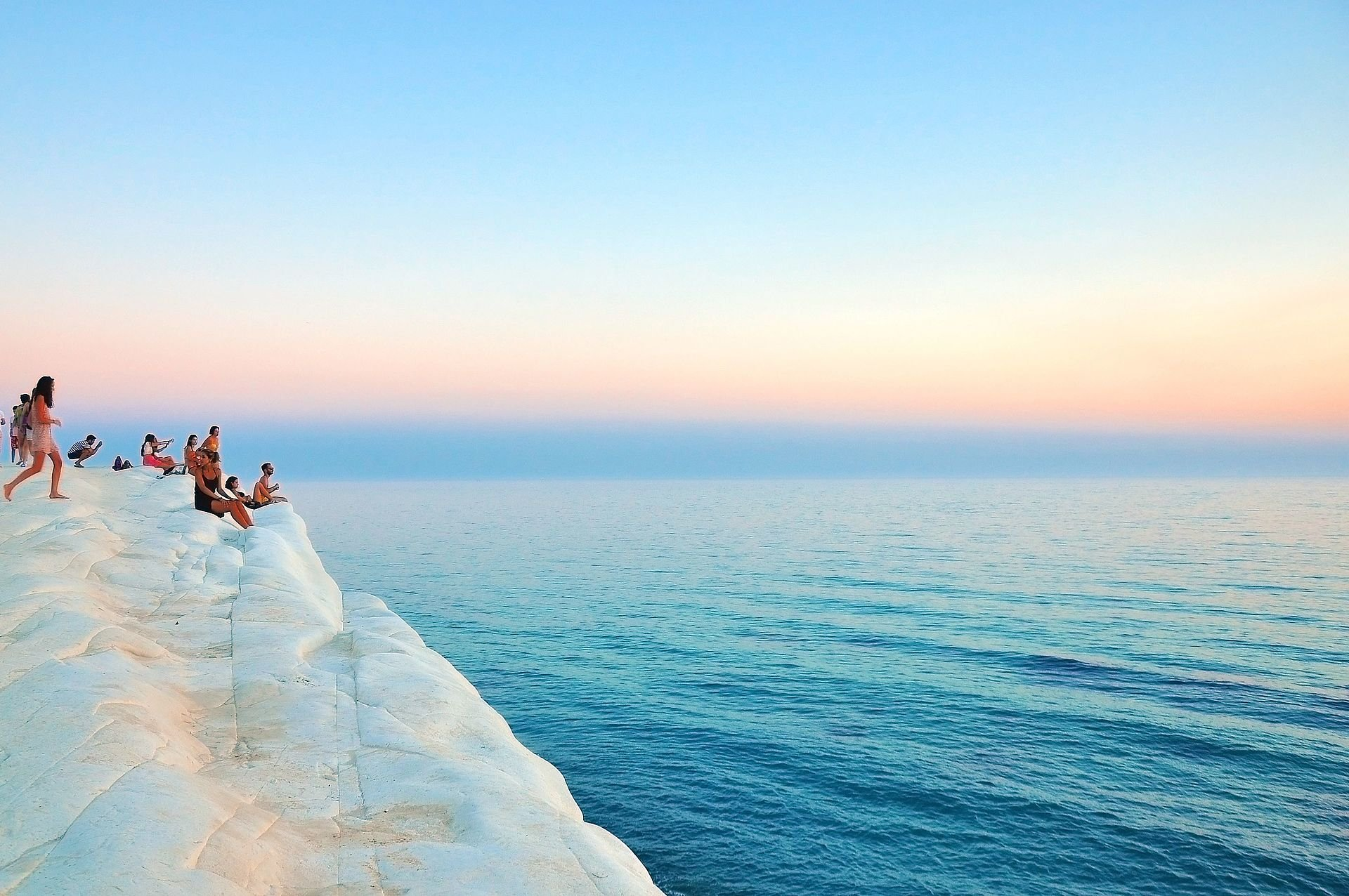 Best time for Scala dei Turchi in Sicily 2020