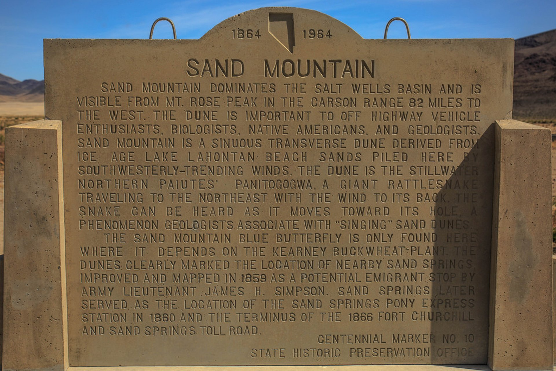 Best time to see Sand Mountain in Nevada 2020