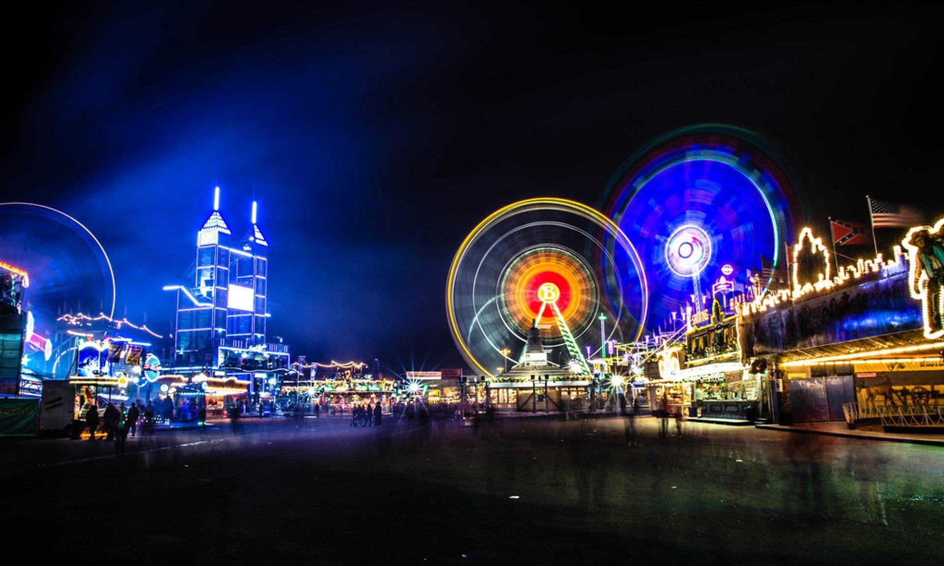 Best time for Frühlingsfest Stuttgart (Stuttgart Spring Festival) 2020