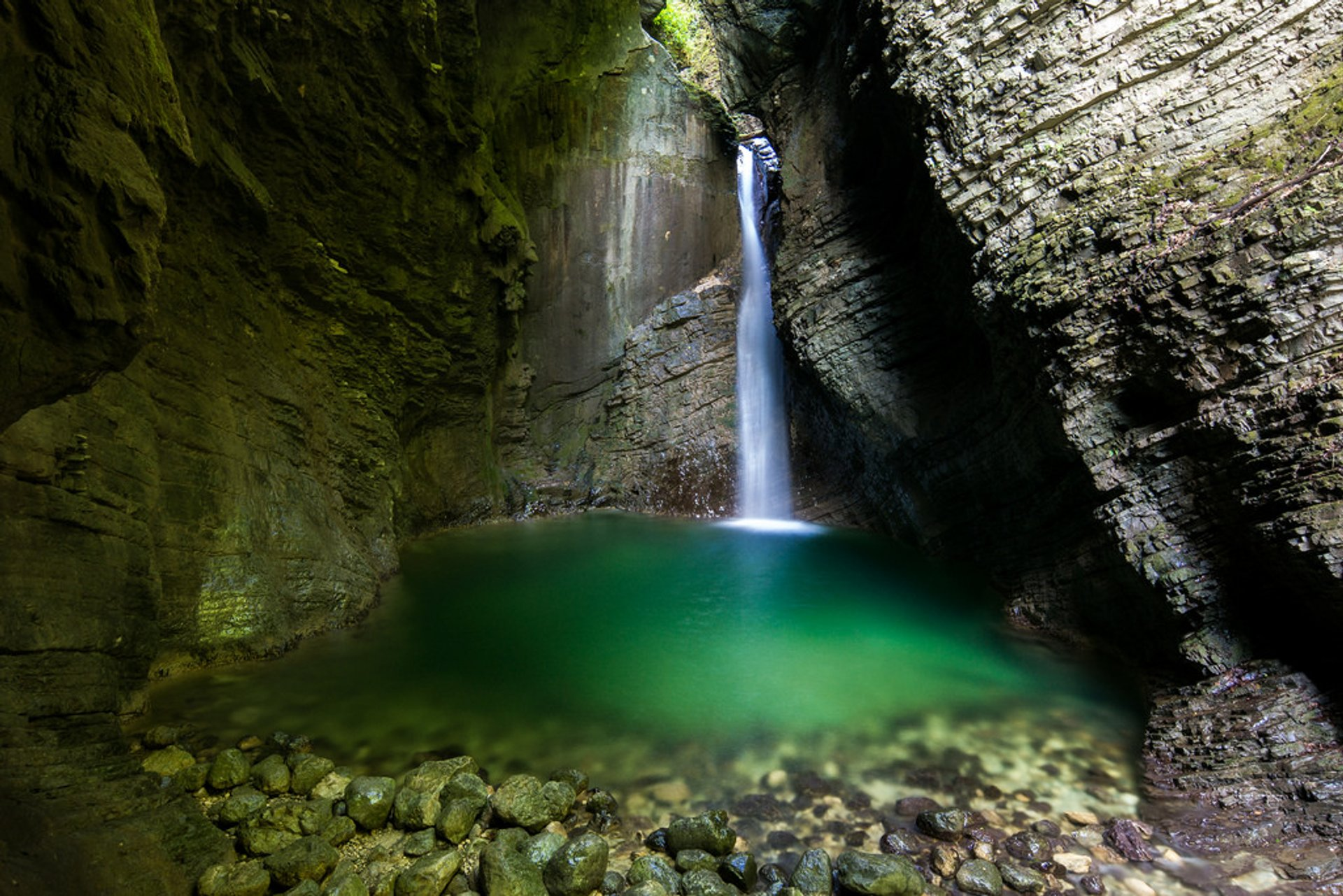 Waterfalls in Slovenia 2019 - Best Time
