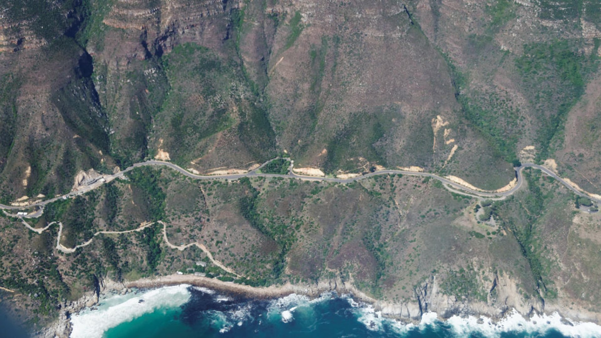 Part of the drive south of Hout Bay 2020