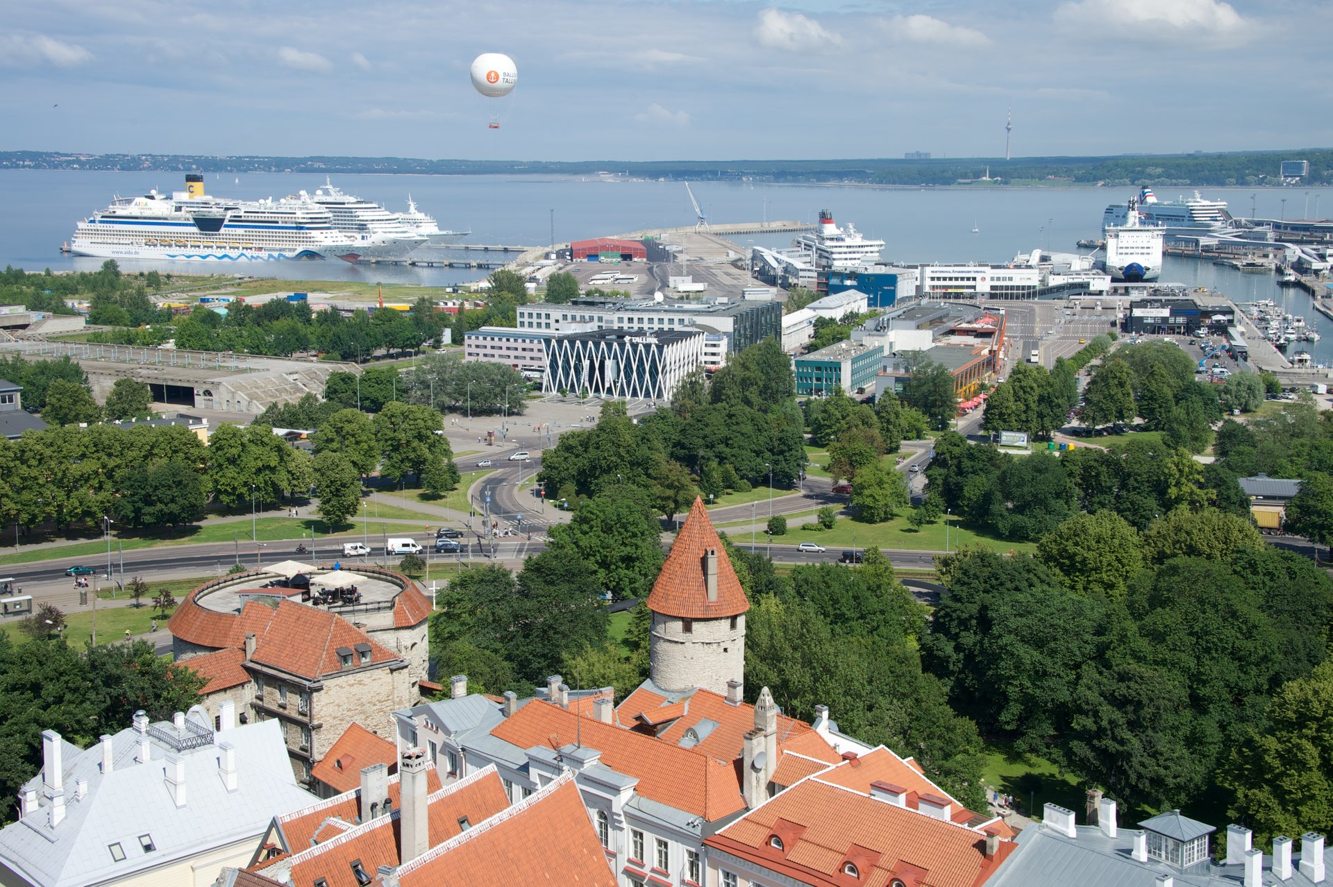 Best time for Balloon Tallinn in Estonia 2019