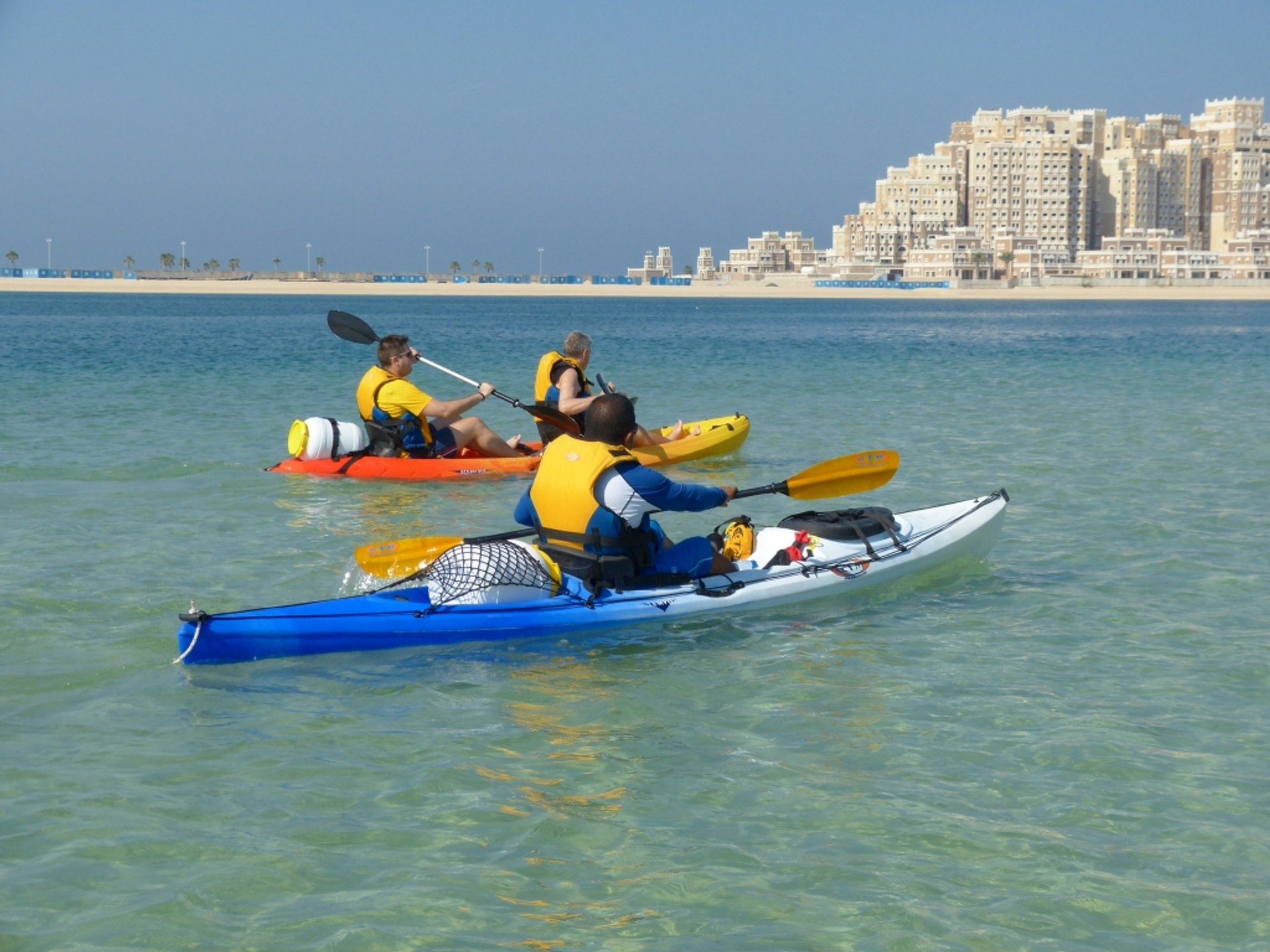 Best time to see Kayaking and Canoeing in Dubai