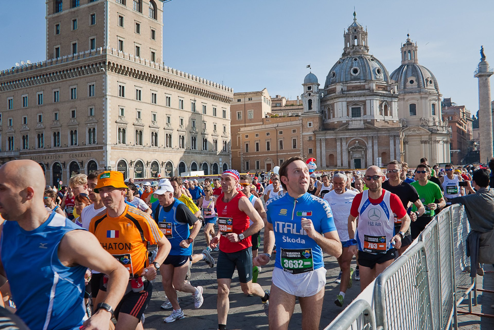 Maratona di Roma (Rome Marathon) in Rome 2020 - Best Time