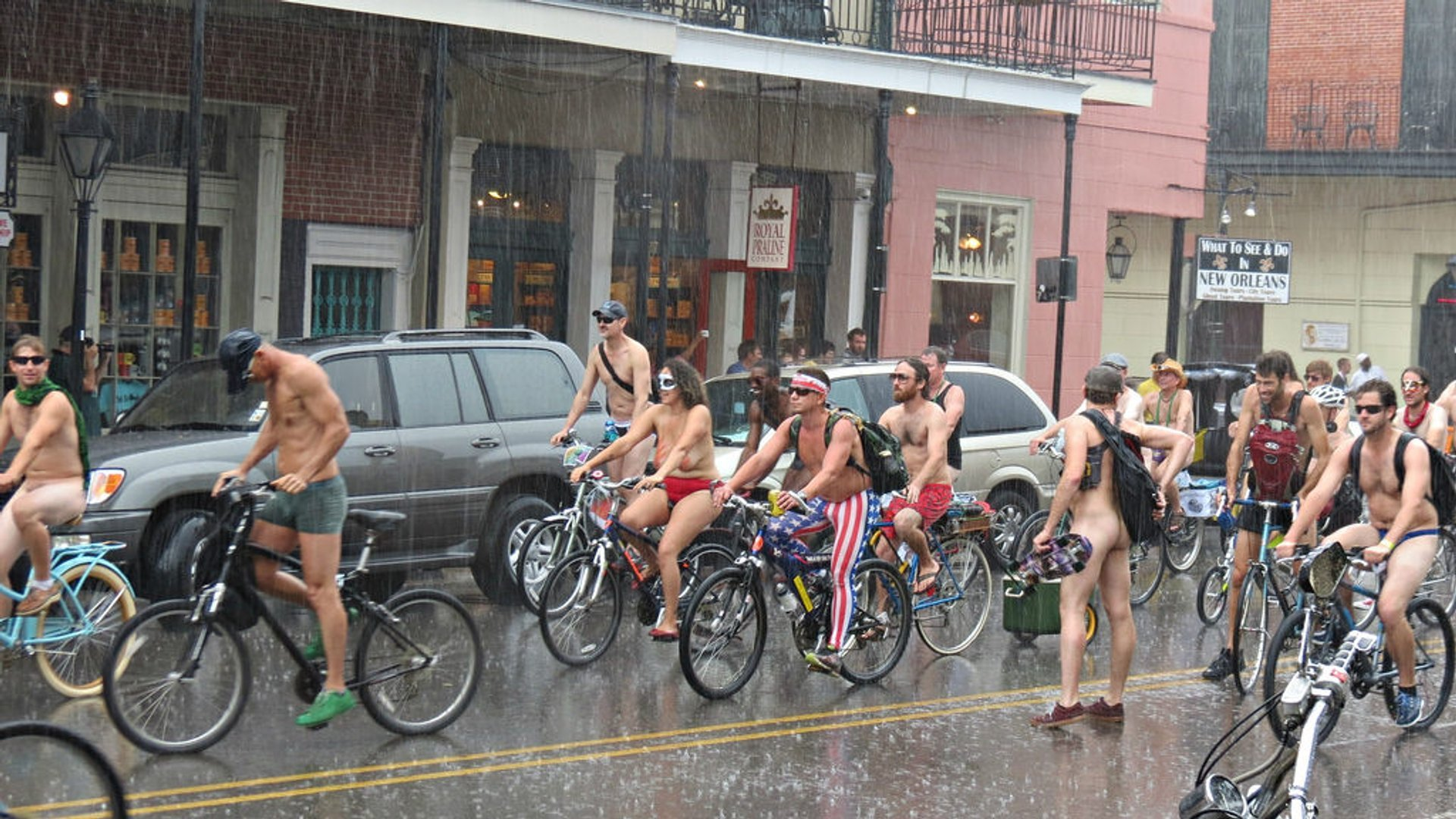 World Naked Bike Ride in New Orleans - Best Season 2020