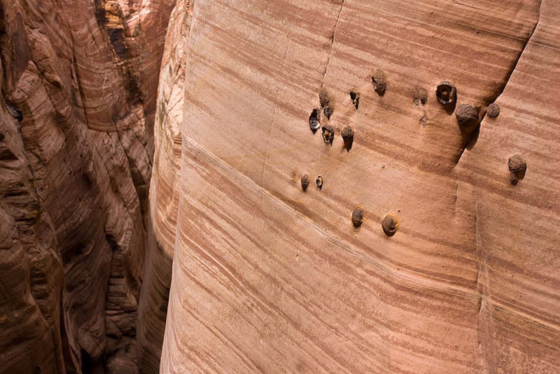 Best time to see Zebra Slot Canyon in Utah 2020