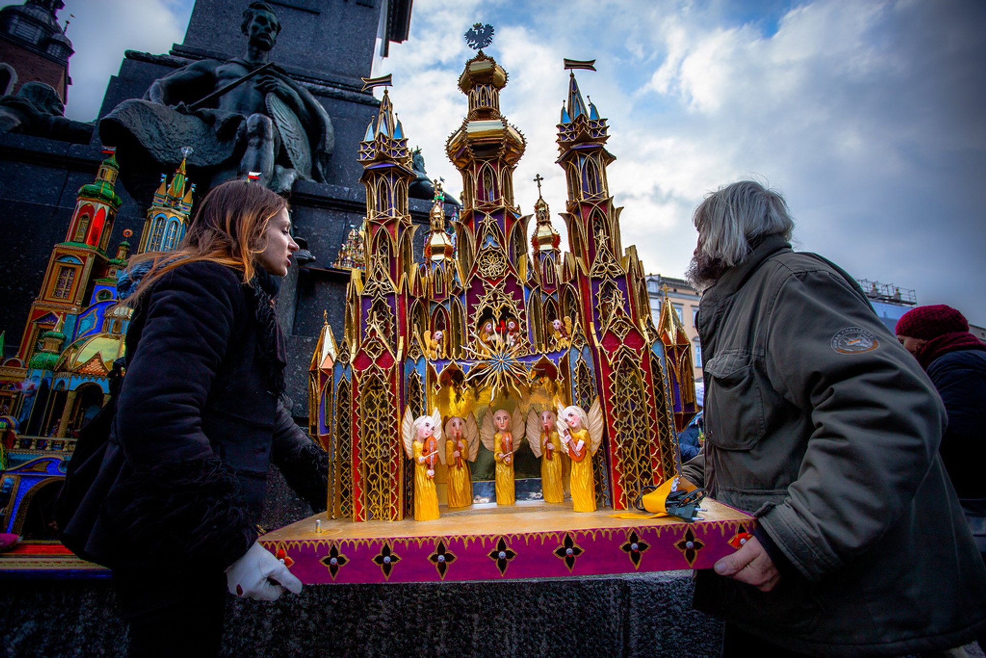 Szopka or Nativity Scene Competition in Krakow - Best Season 2020