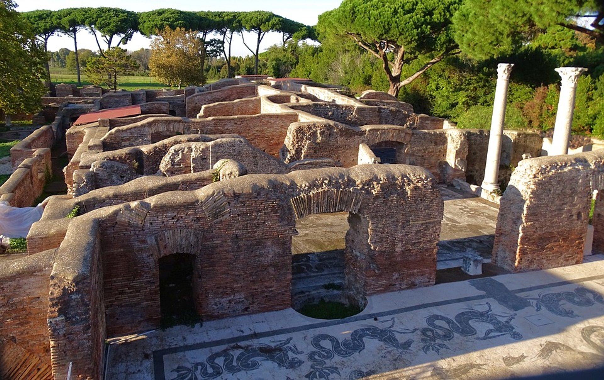 Ruins of Ostia Antica 2020