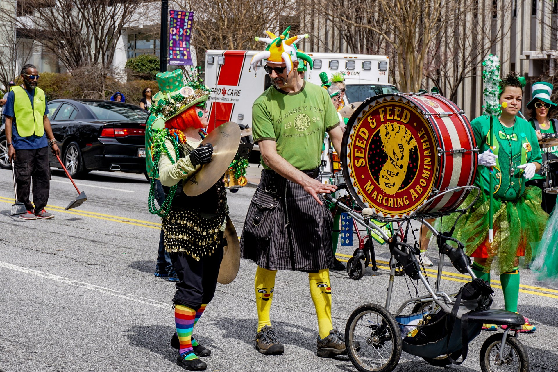 Best time for Atlanta St. Patrick's Parade 2020