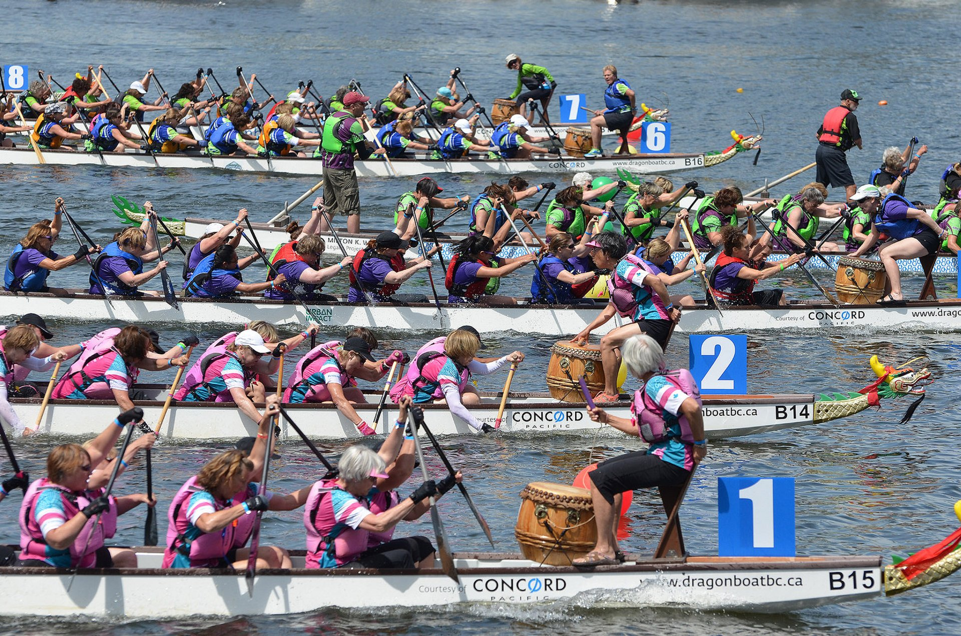 Best time for Dragon Boat Festival in Vancouver 2020