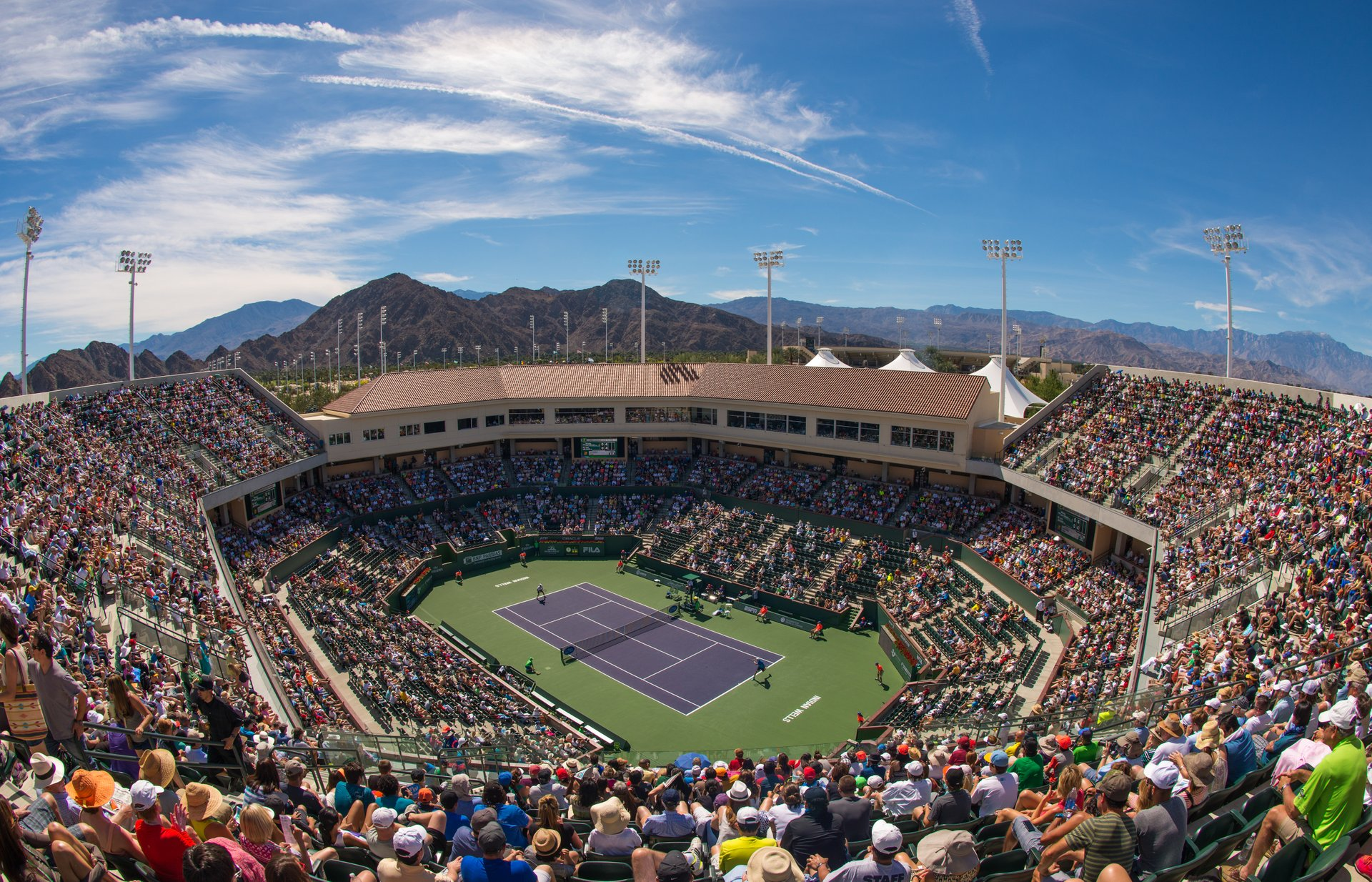 BNP Paribas Open in California - Best Time