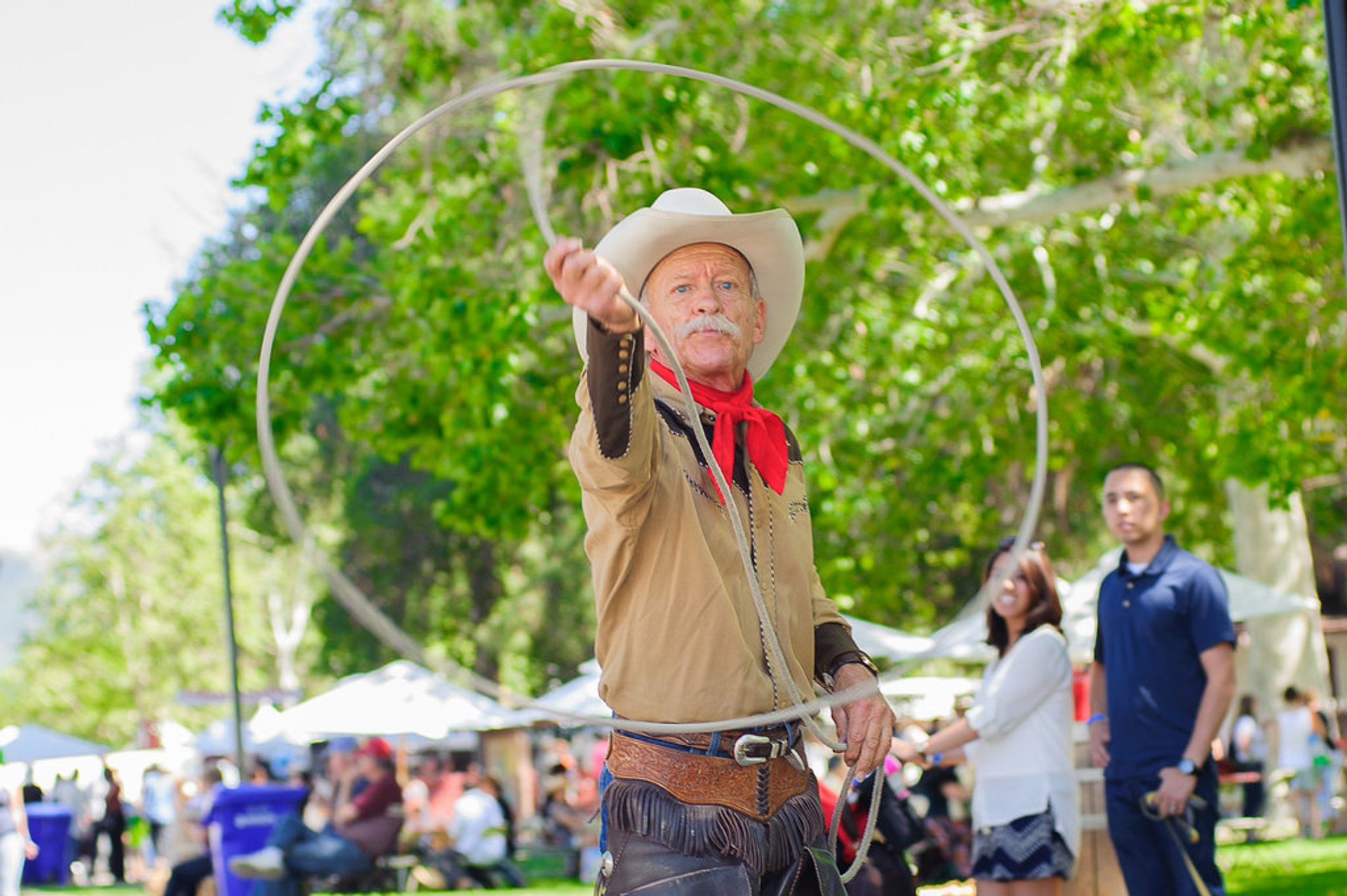 Best time for Santa Clarita Cowboy Festival in Los Angeles 2019