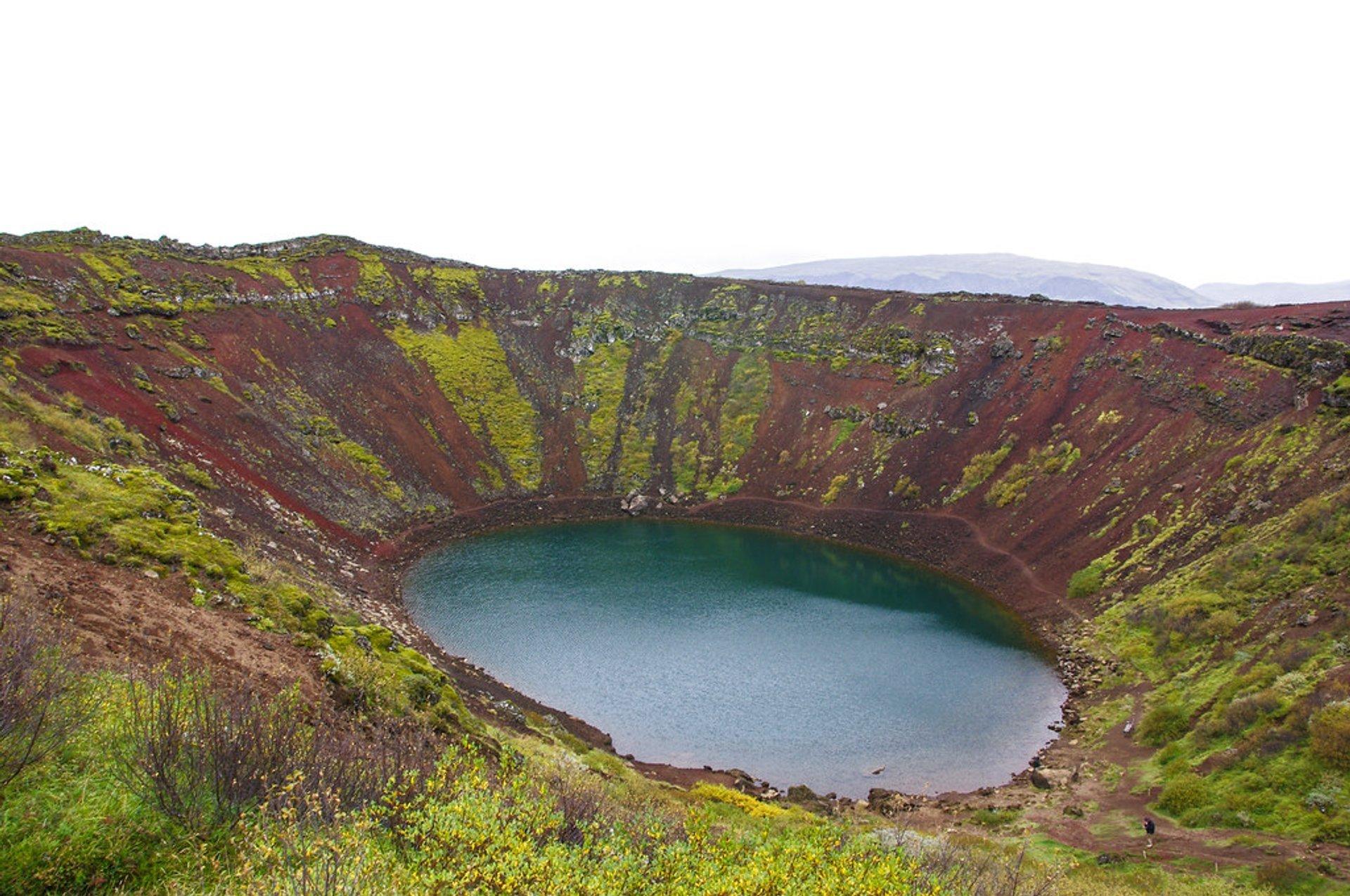 Kerid Crater Lake in Iceland - Best Season 2020