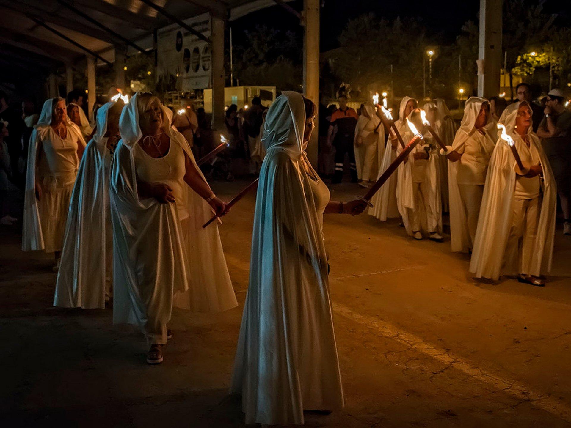 Best time for San Juan Bonfire Festival (Noche de San Juan) 2020