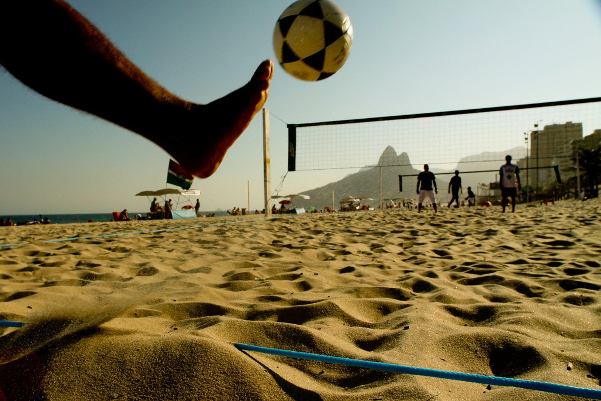Futevôlei or Footvolley in Rio de Janeiro 2020 - Best Time