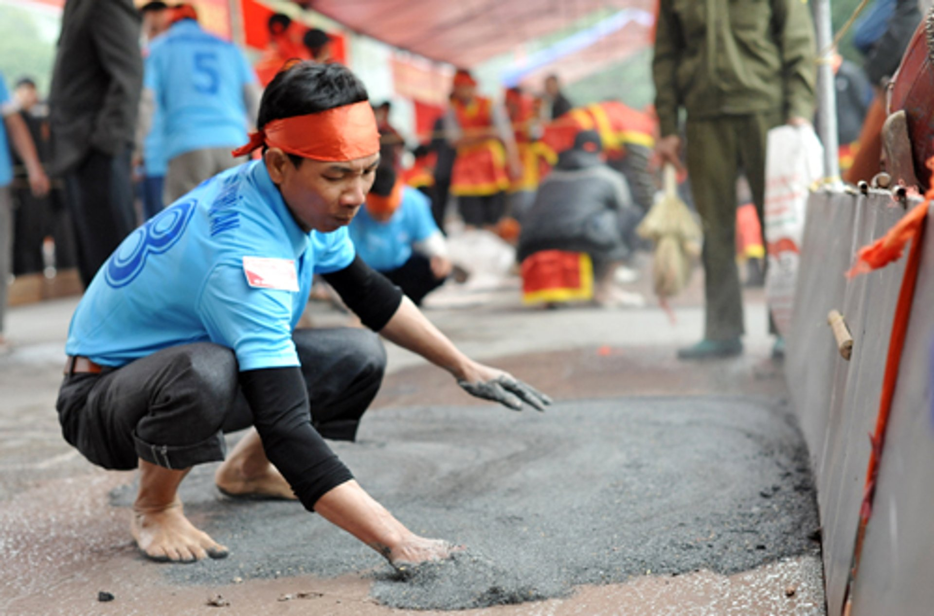 Best time to see Clay Firecracker Festival in Vietnam 2020