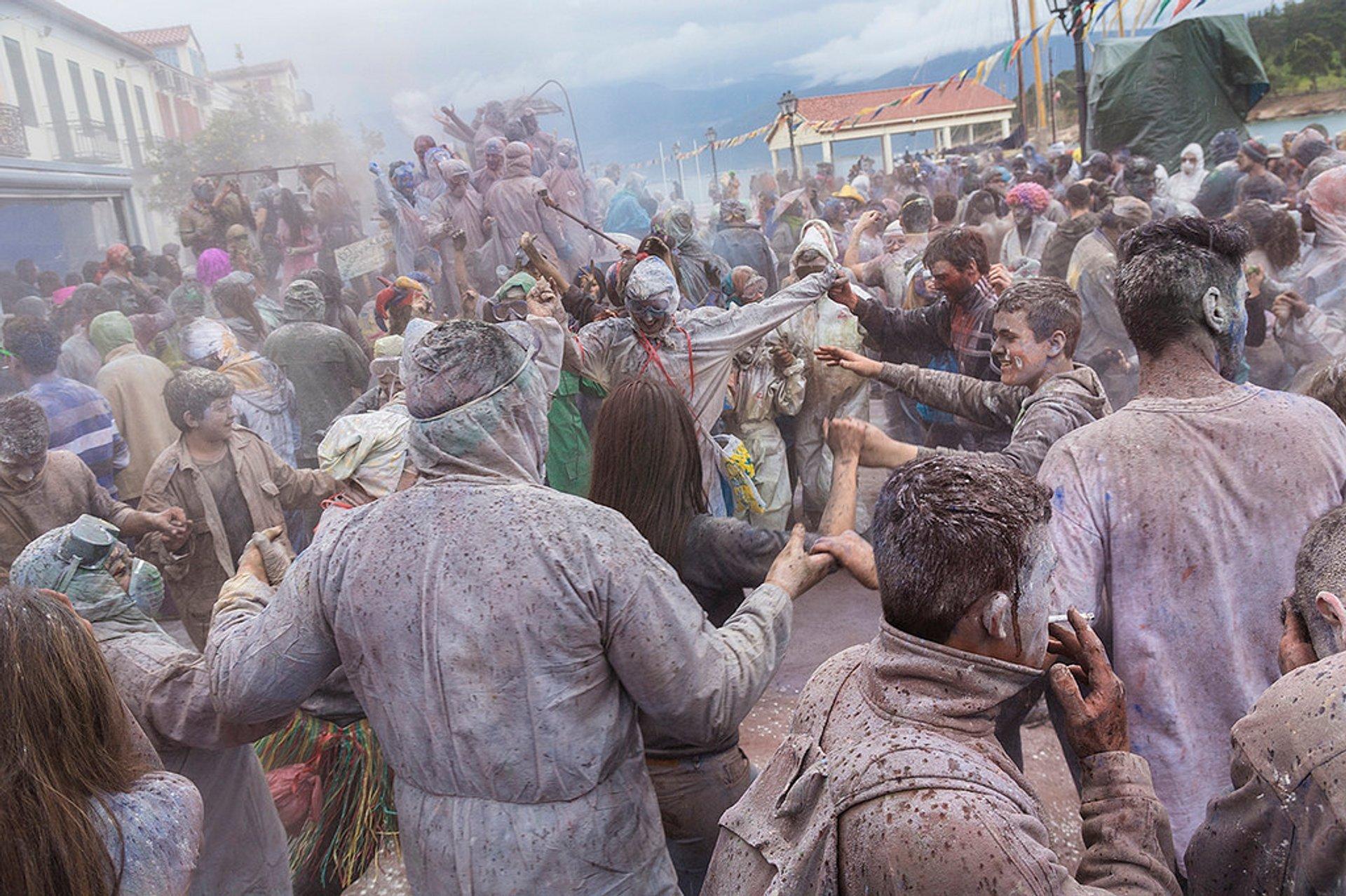 Galaxidi Flour War Carnival in Greece - Best Season