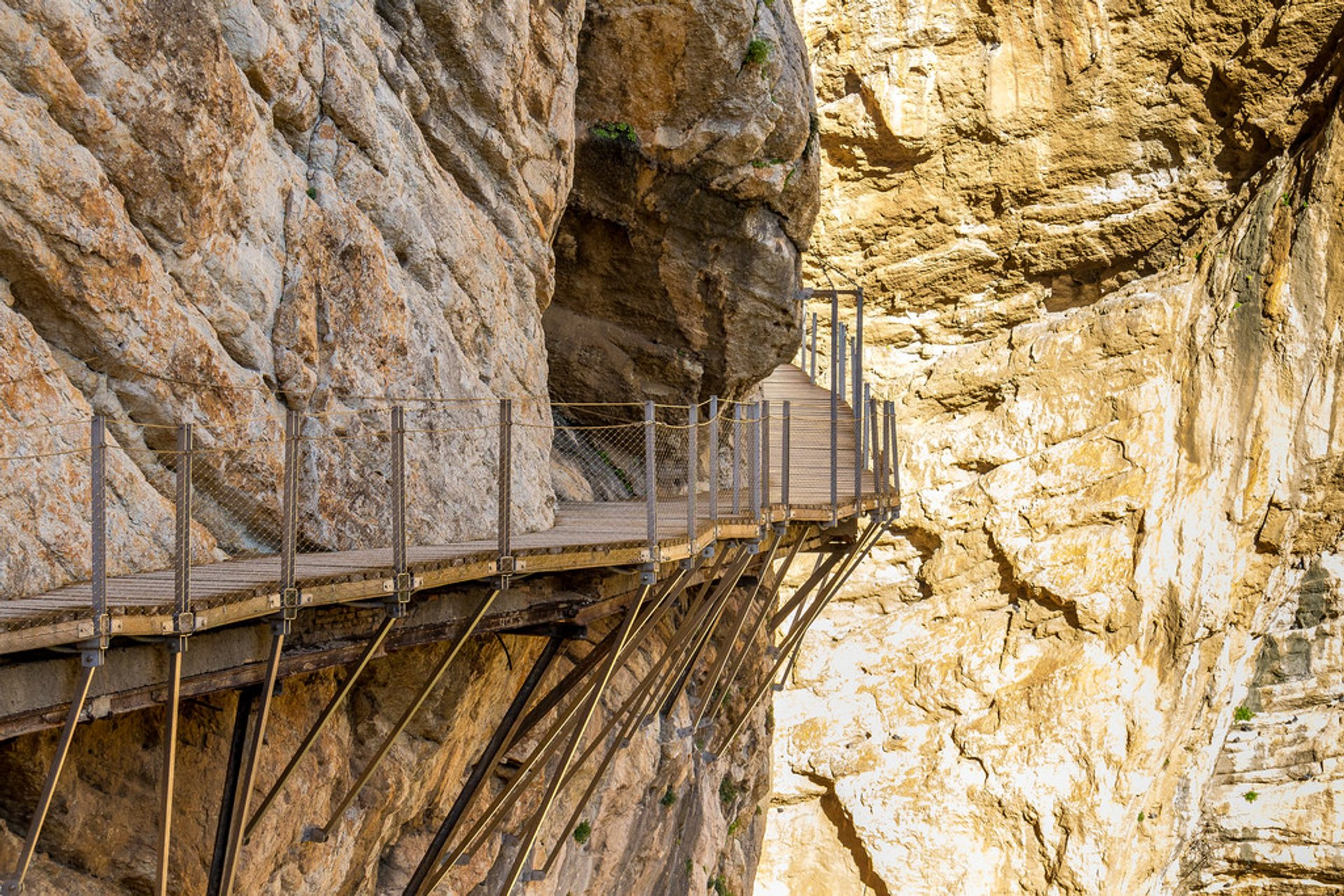 El Caminito Del Rey (King's Path) in Spain - Best Season 2020