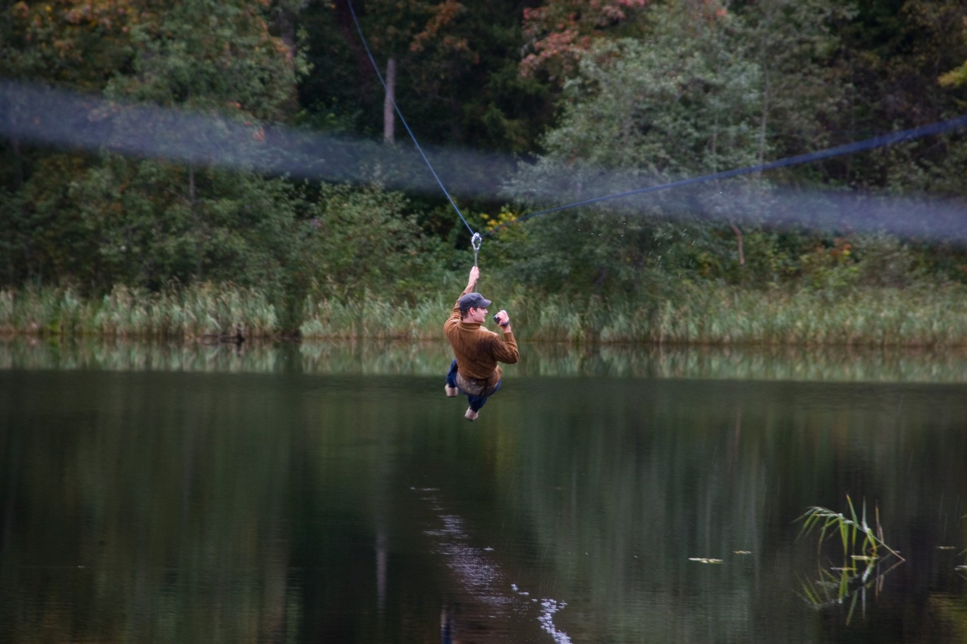 Zip-Line in Kiviõli in Estonia - Best Season 2020