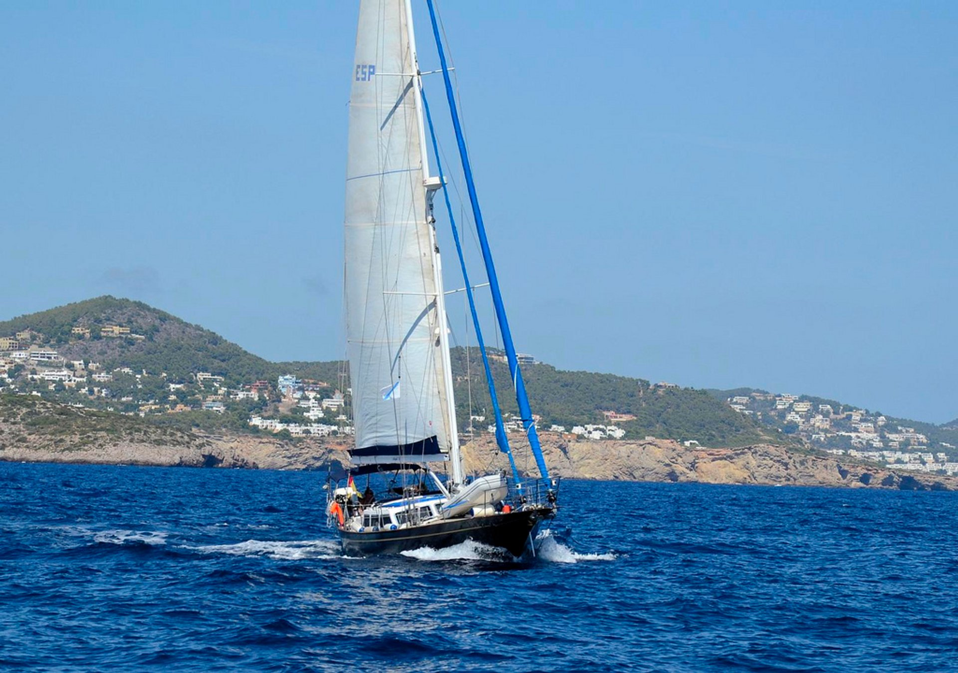 Yachting around Ibiza in Ibiza - Best Season 2020
