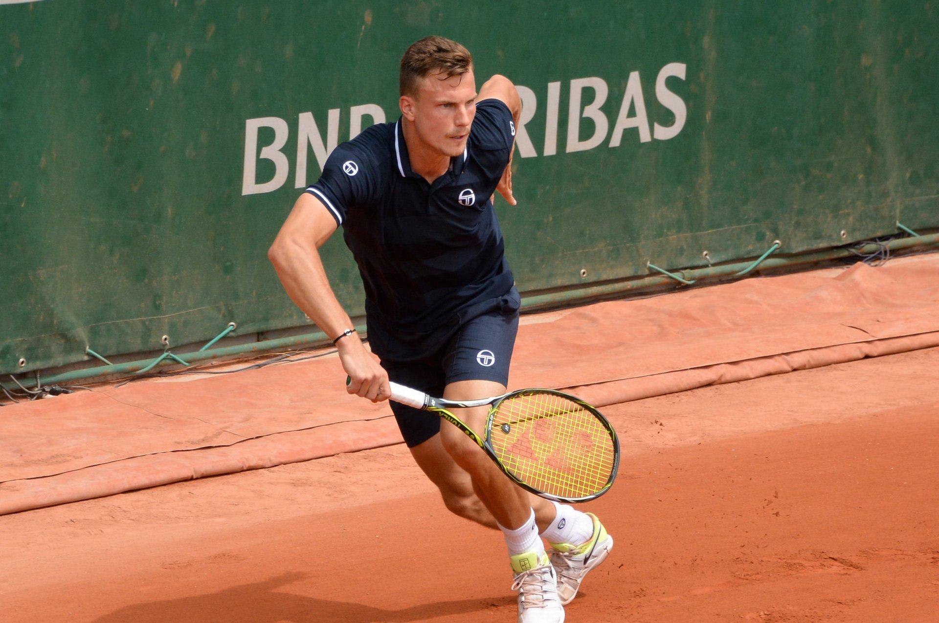 Marton Fucsovics at Roland Garros 2018 2020