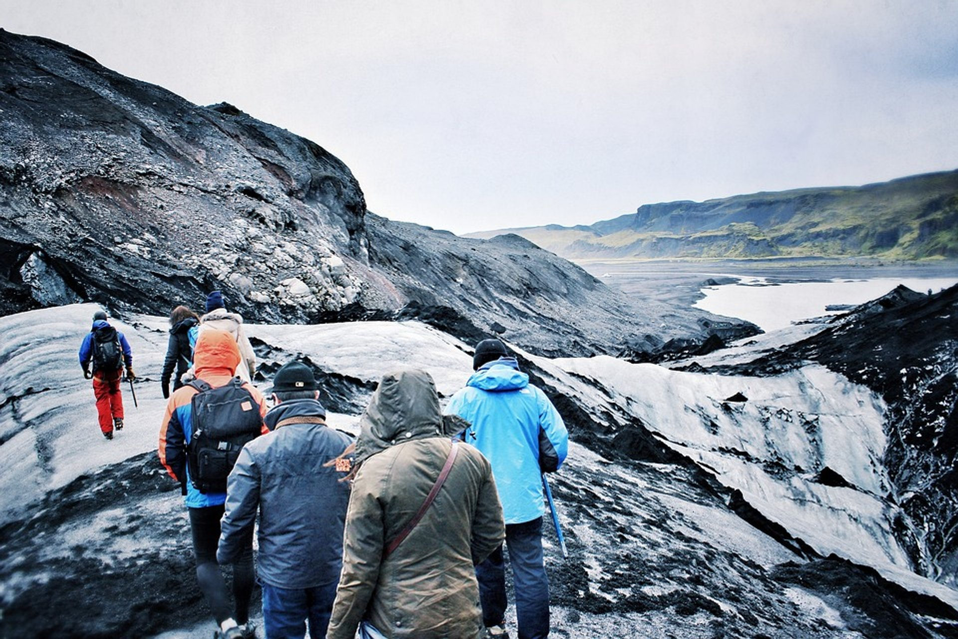 Best time for Glacier Walking in Iceland 2020